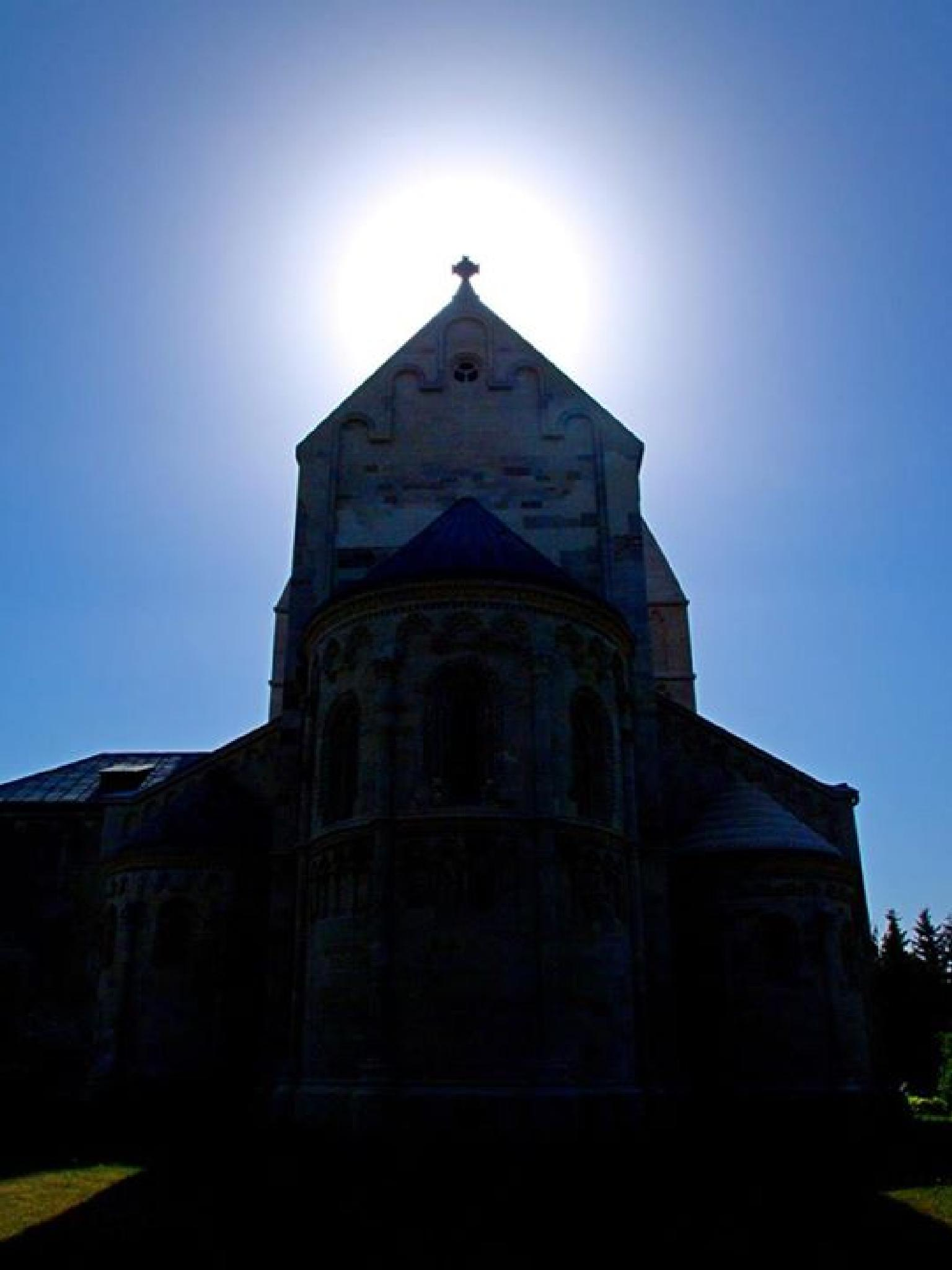 Church of Ják by Kenéz Imre