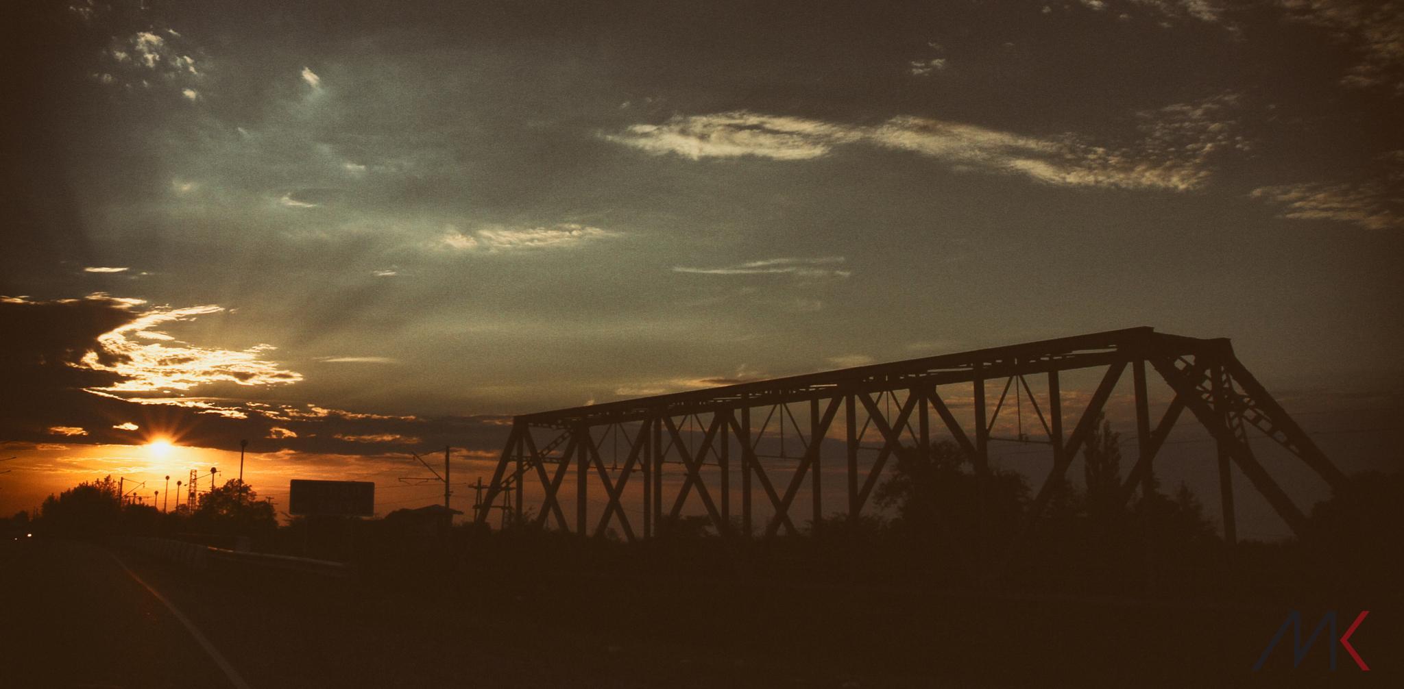 sunset by Makho Kipshidze