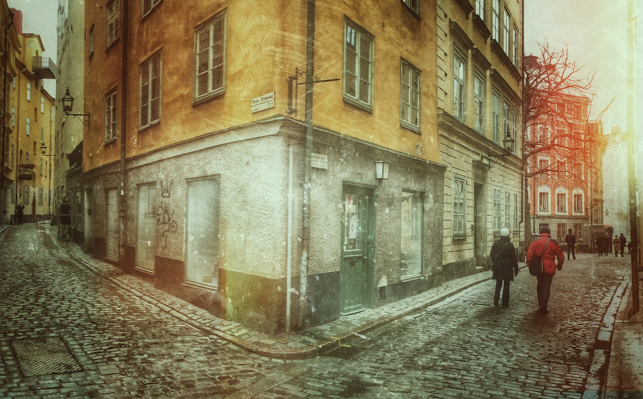 The Old town... by Åke Noring