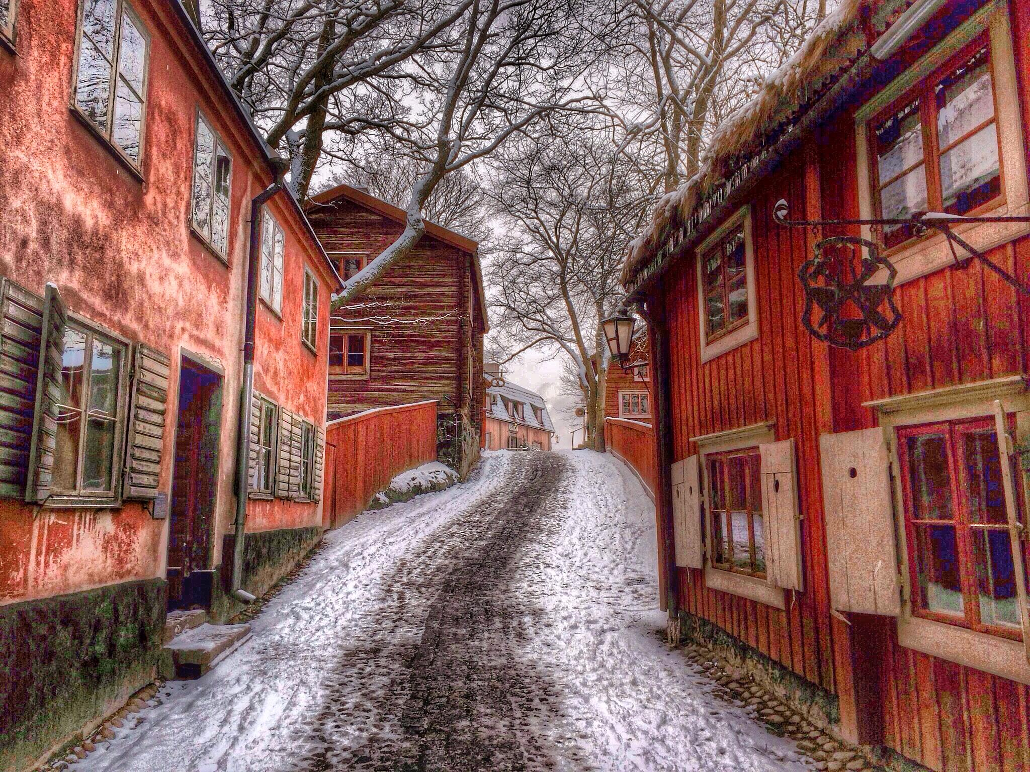 The old road... by Åke Noring