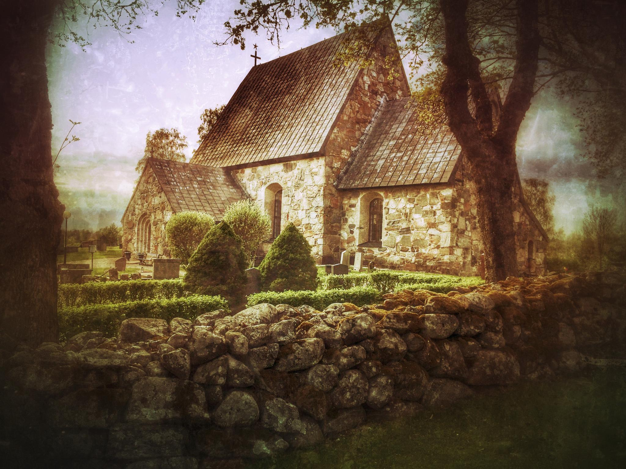 The Church... by Åke Noring