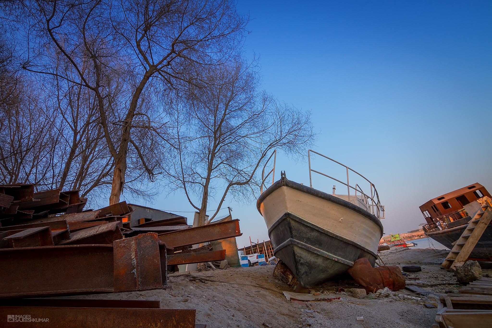 Dockyard by Sajeesh Kumar