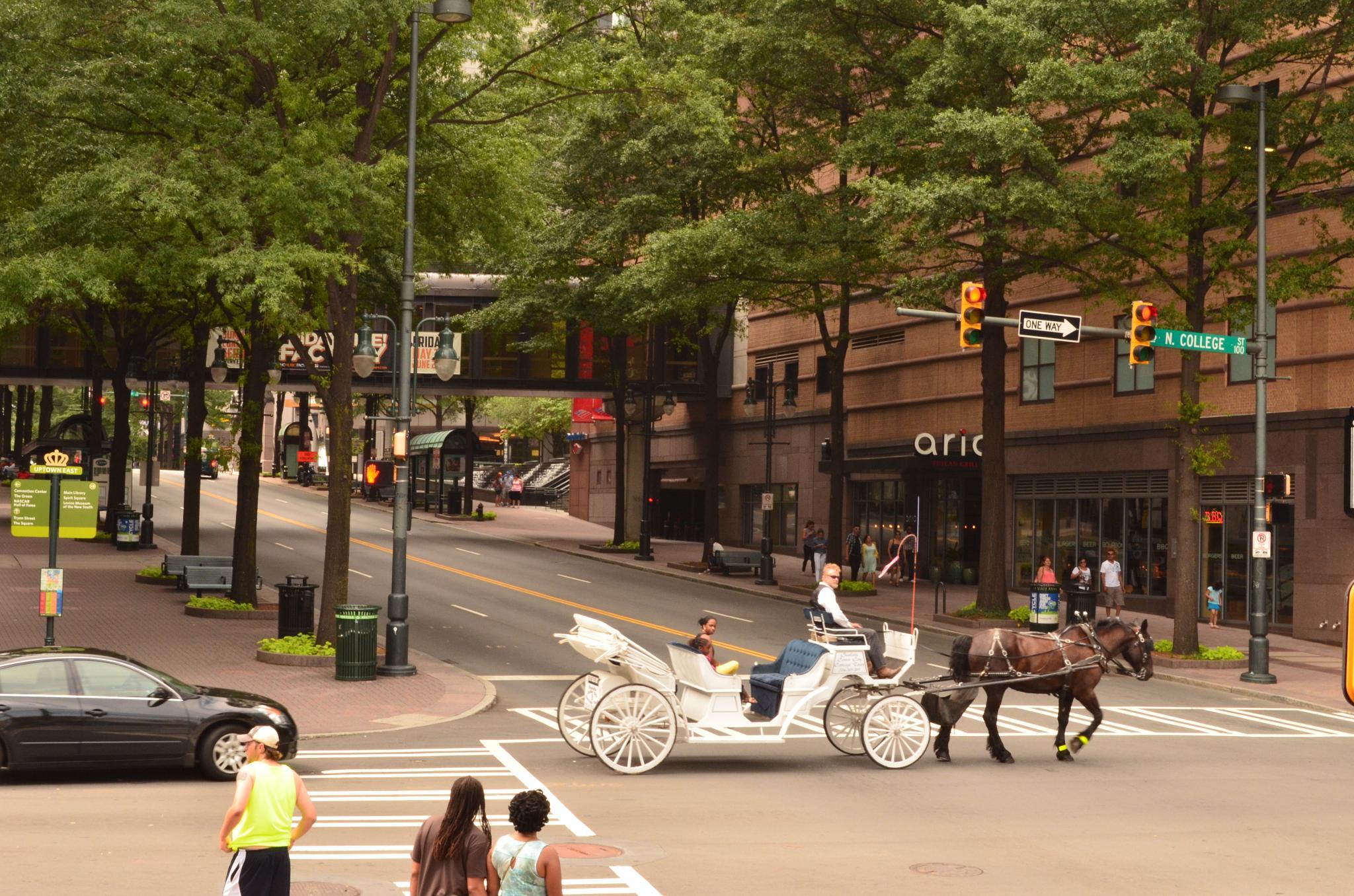 Downtown Charlotte by Jesús Leal Vallejo