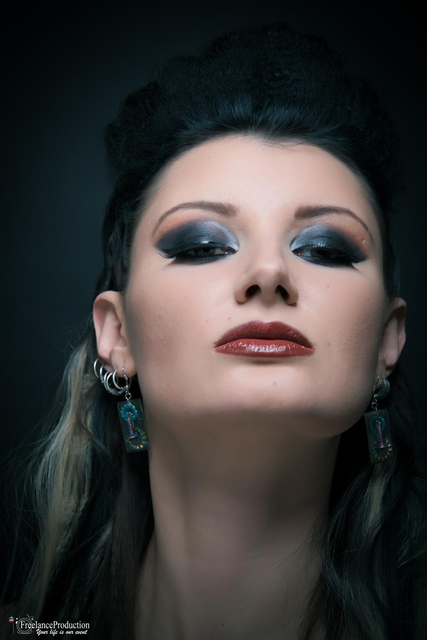 Portrait by Octavian Enachescu