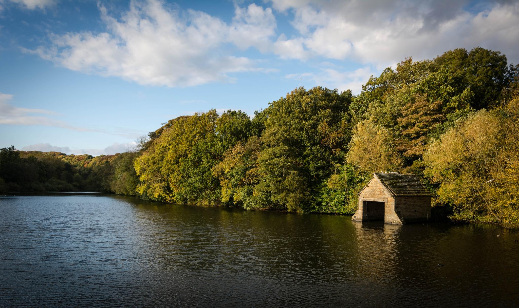 "The "" Boat house."" by Steven Mark Bridgett."