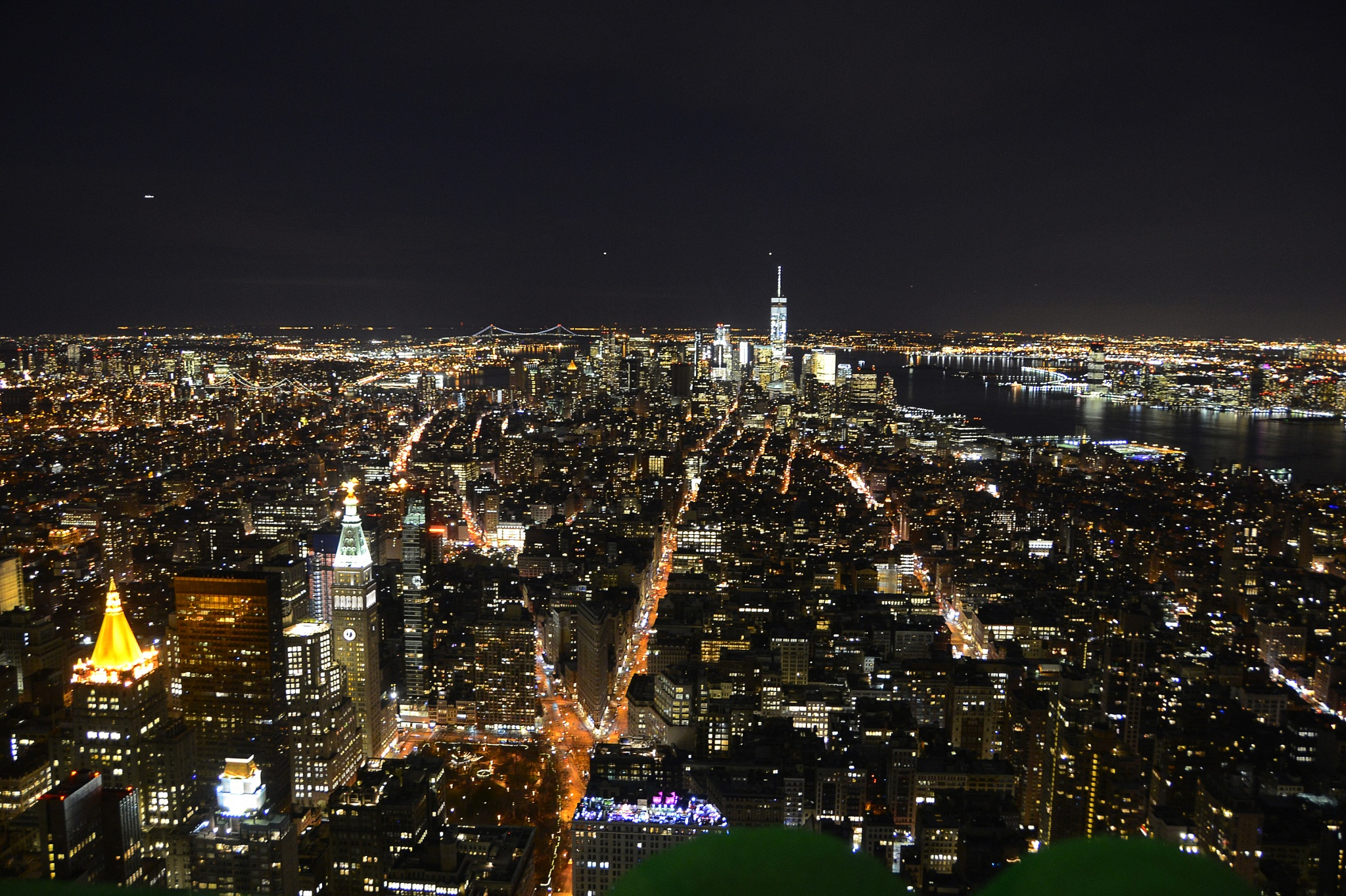 Night over NY by didiervilbert