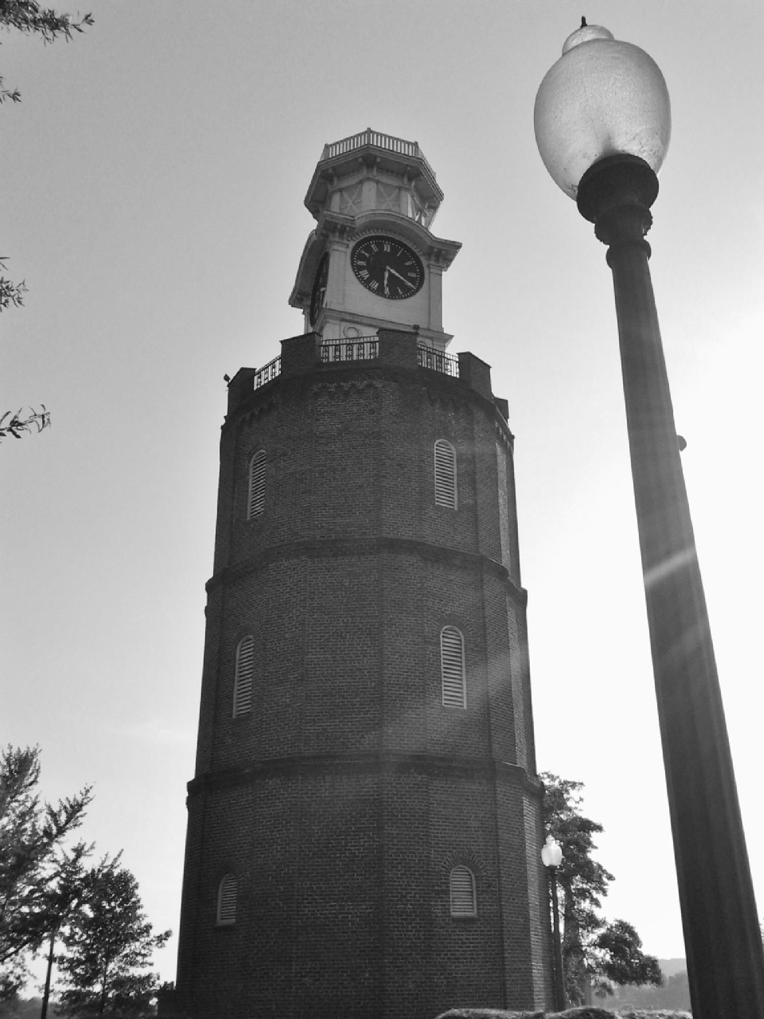 Clock Tower, Rome, Georgia by Lucy Jones Photography