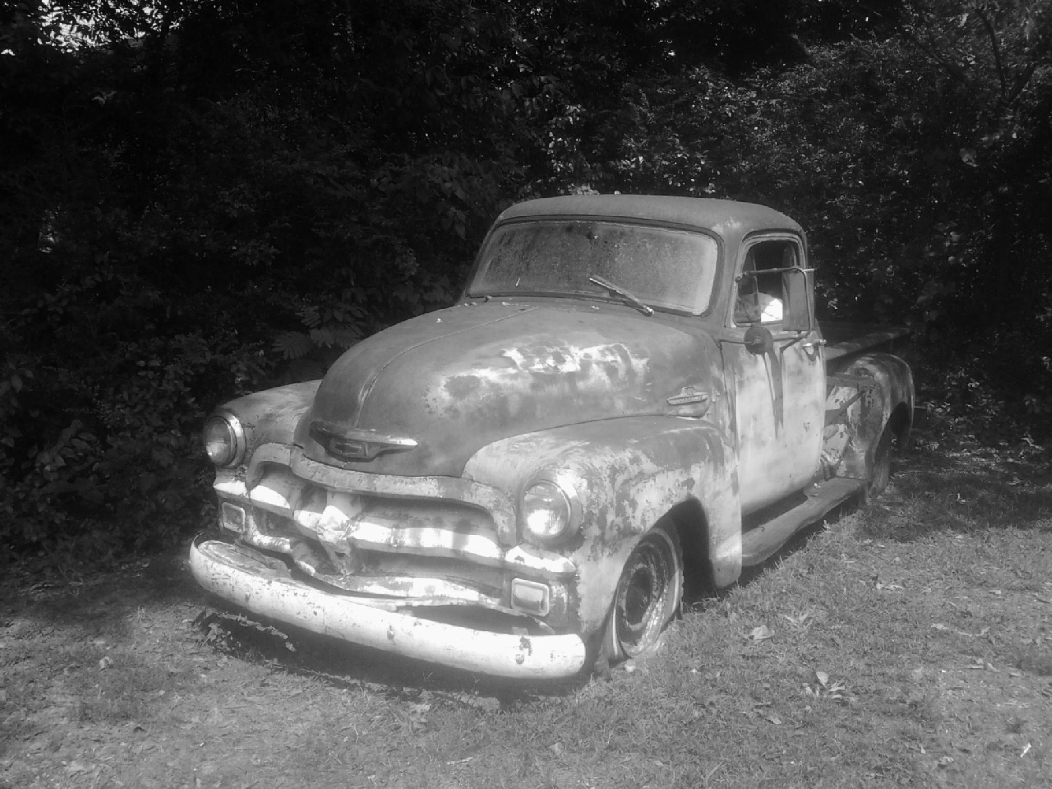 Old Truck by Lucy Jones Photography