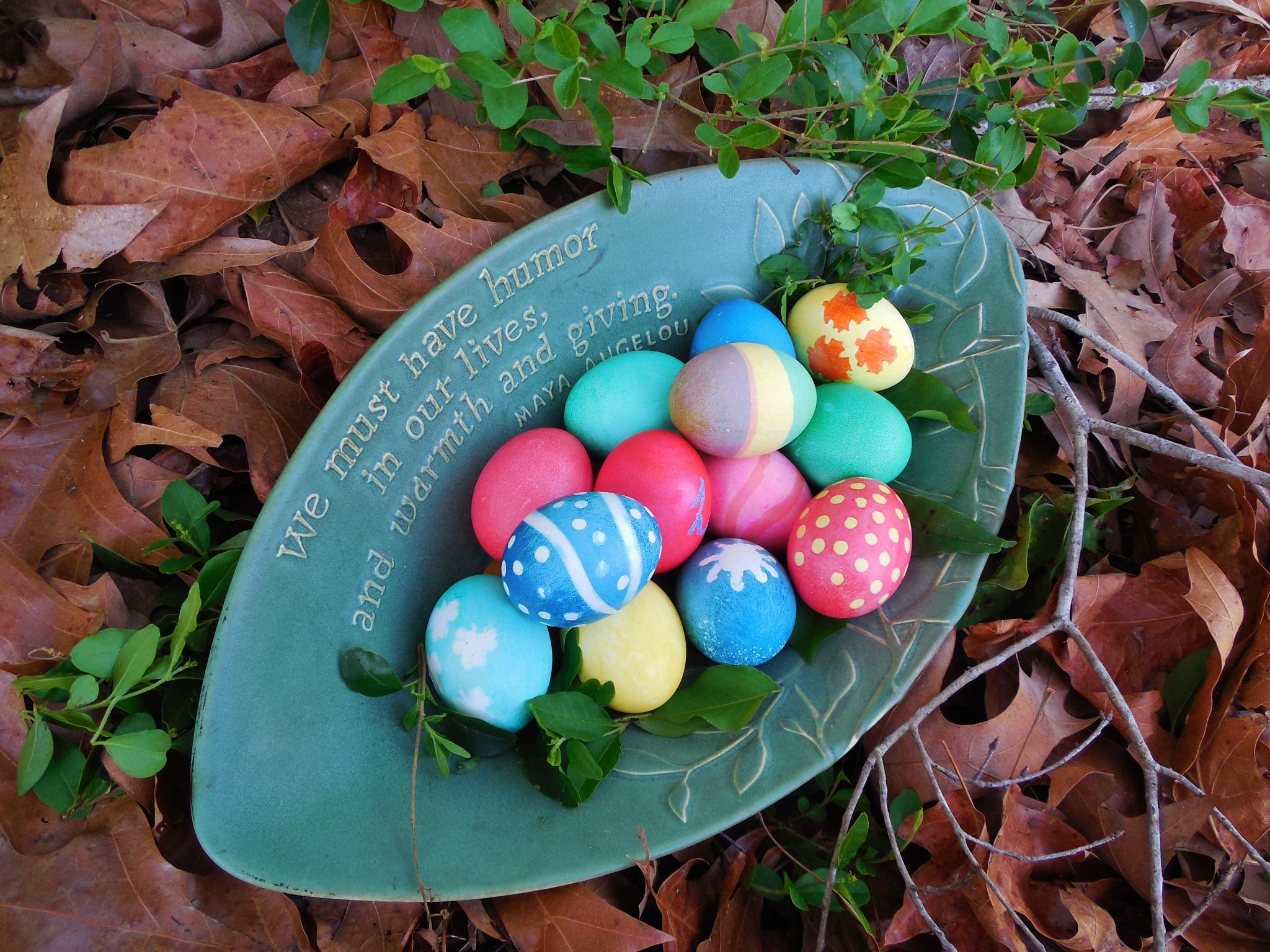 Easter Eggs by Lucy Jones Photography
