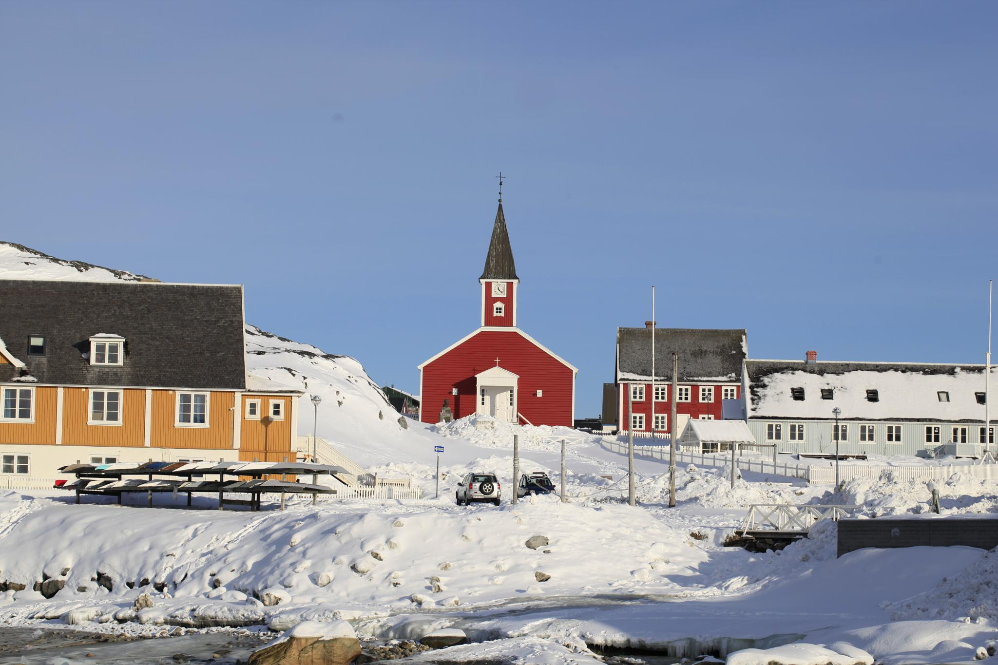 old town nuuk by Tom Augo Lynge