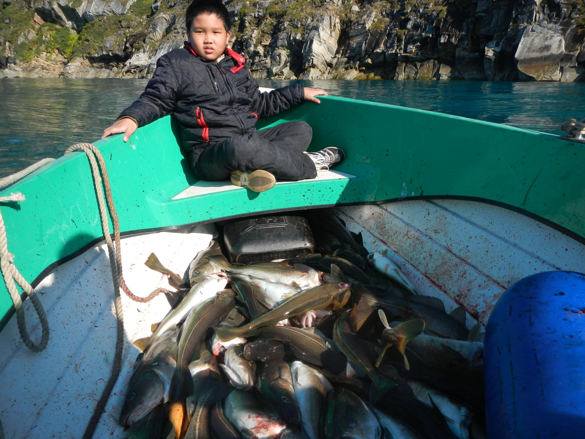 summer cod out make a  money for living with my son by Tom Augo Lynge