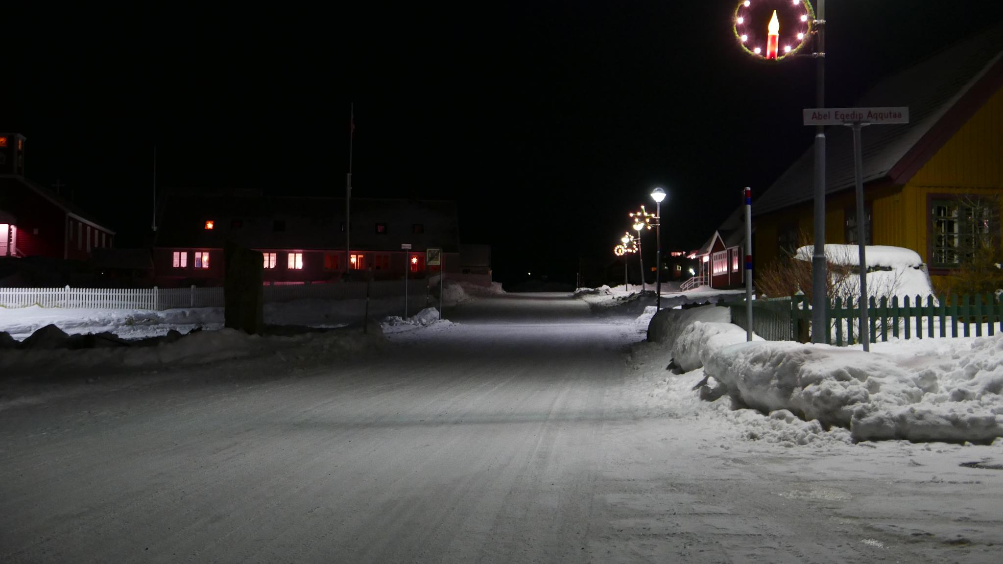 old town crismas decorated  by Tom Augo Lynge