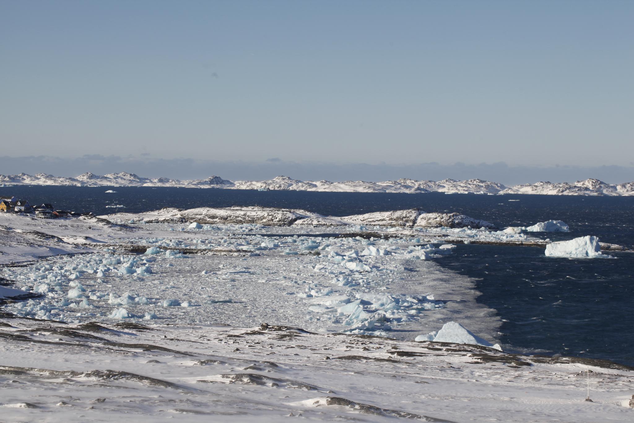 winter in Nuuk greenland by Tom Augo Lynge