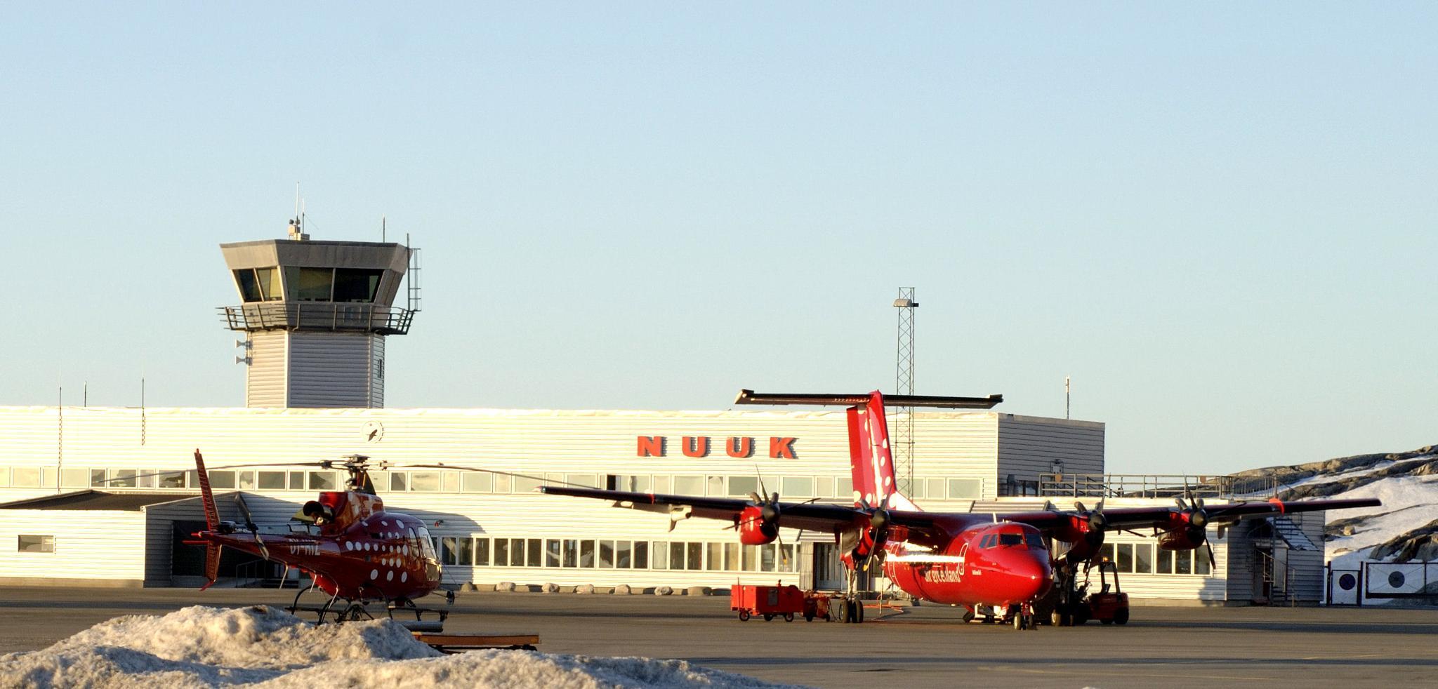 Nuuk airport. by Tom Augo Lynge