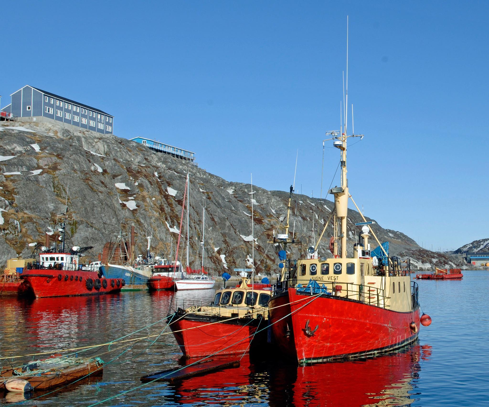 Nuuk Havn.  by Tom Augo Lynge