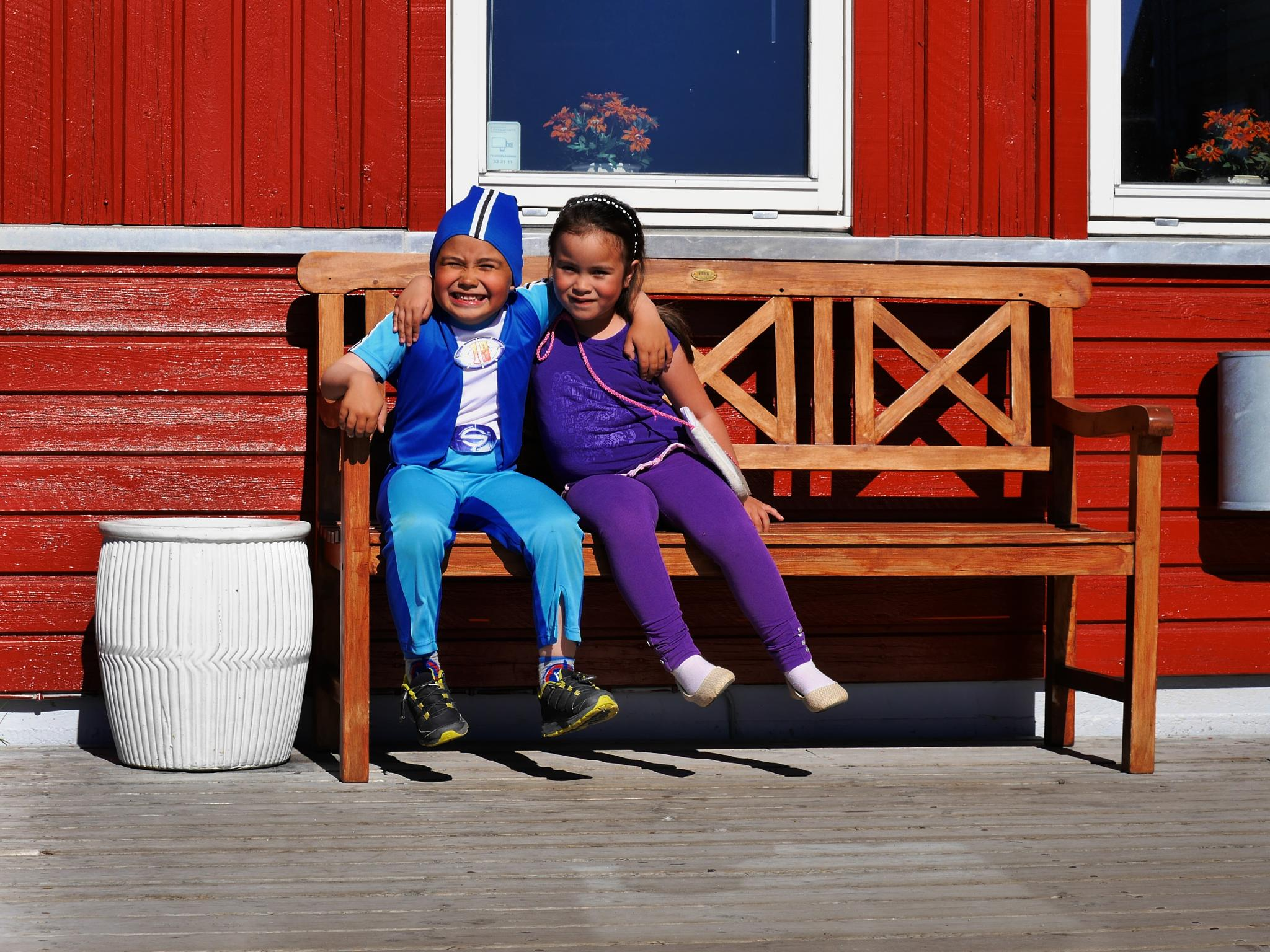 saturday qualitytime with children by Tom Augo Lynge
