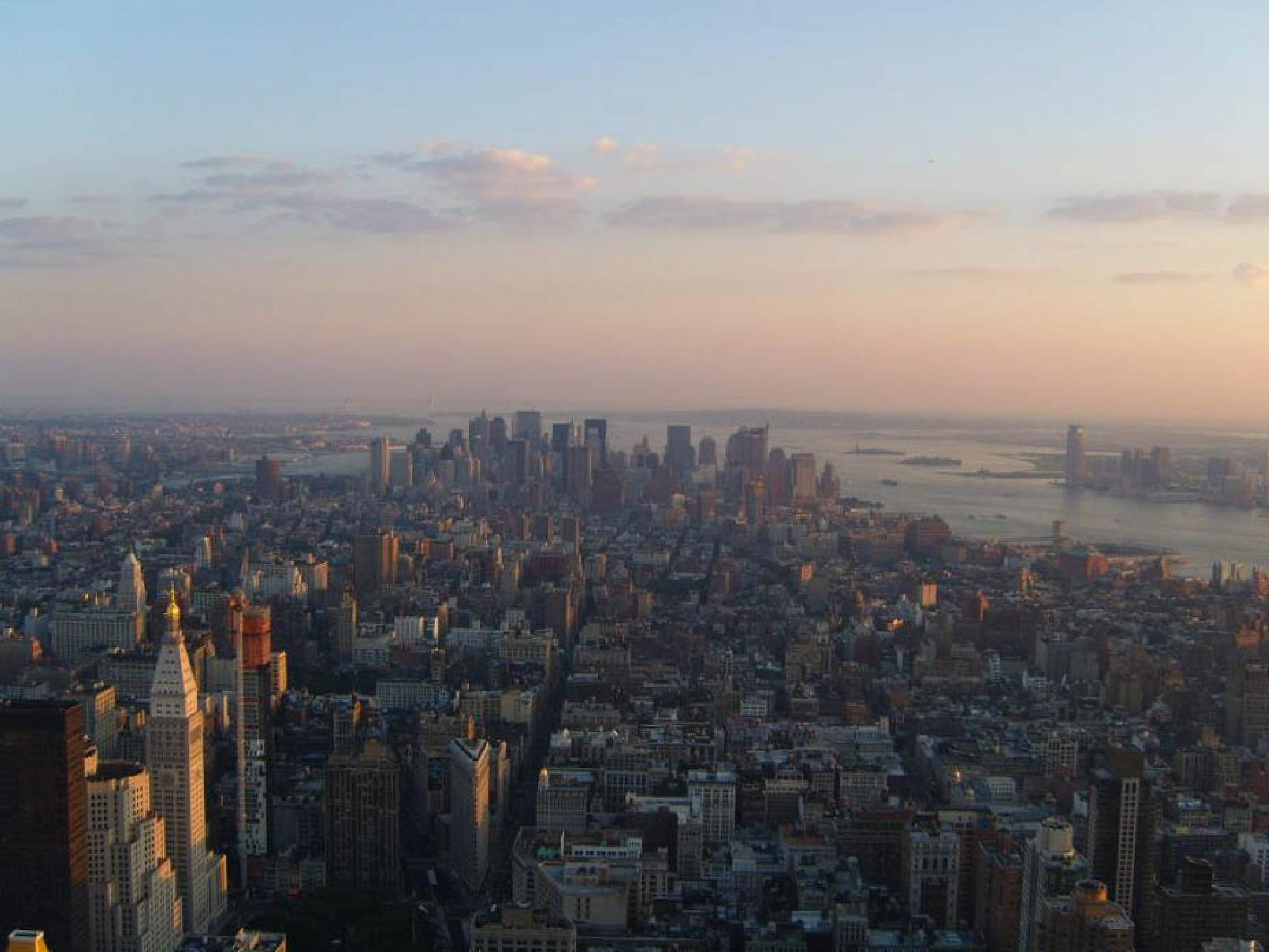 View from Empire State Building by Cynthia Melissa