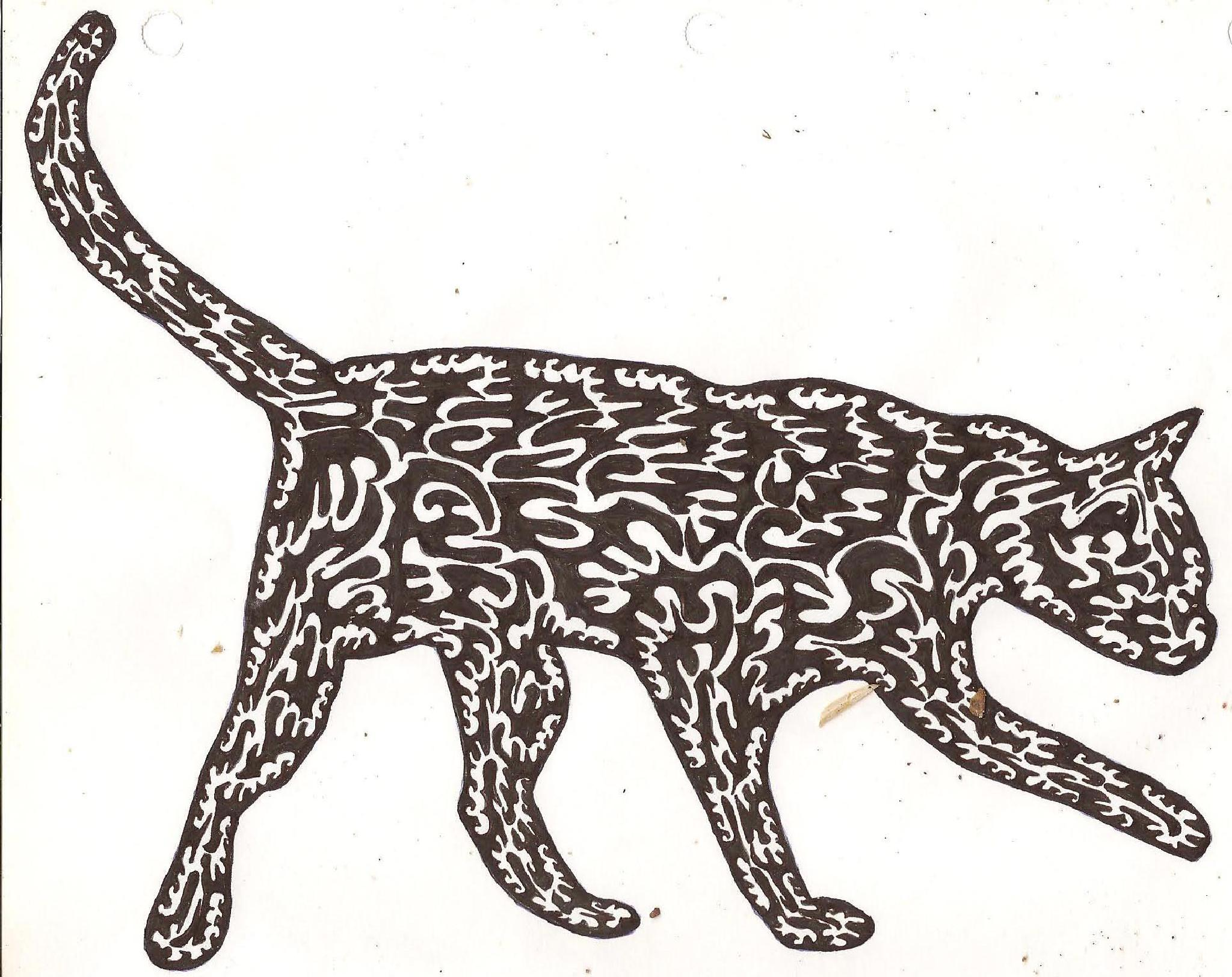 MY CAT DRAWING 1 by bechcomber444