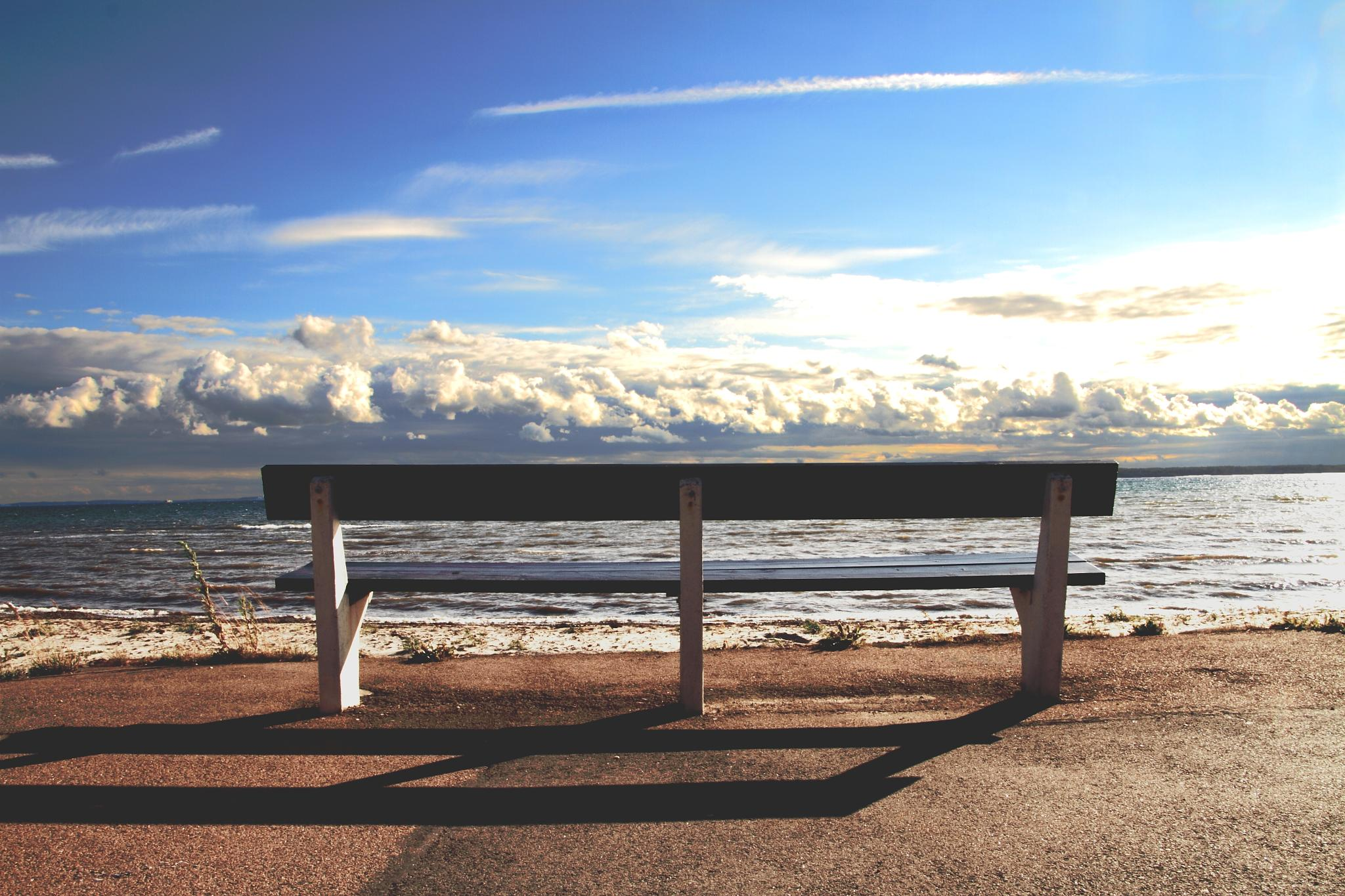 The Bench by Pekeroth Photography