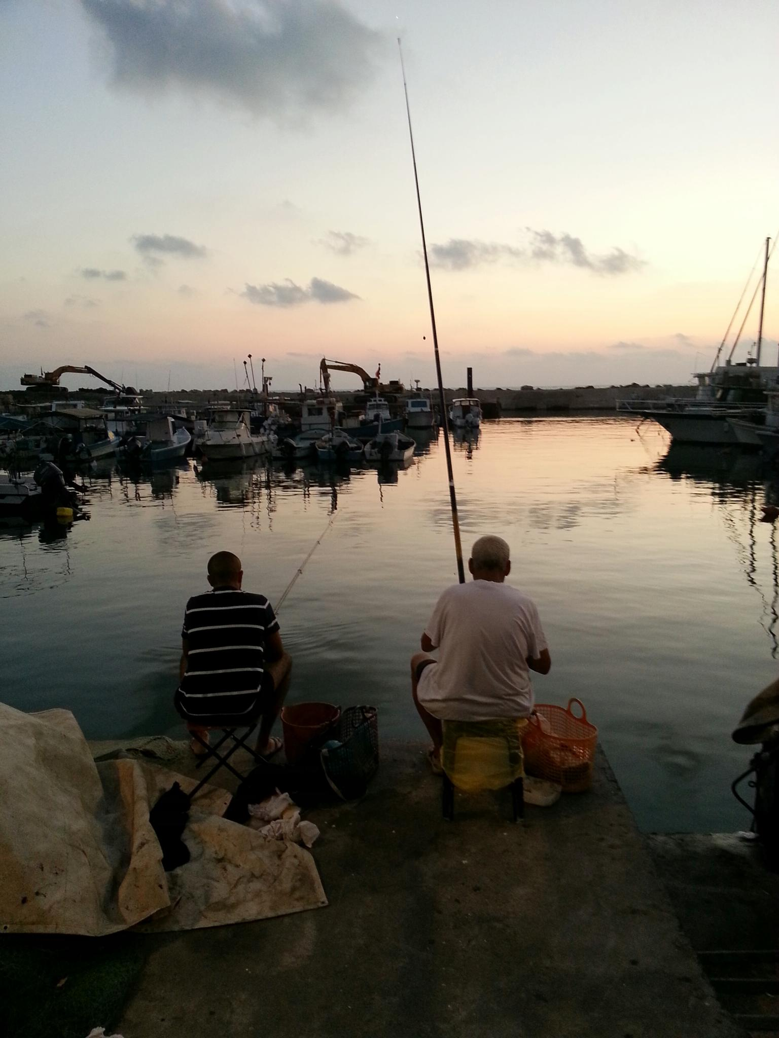 Fishing by Shahar Klein