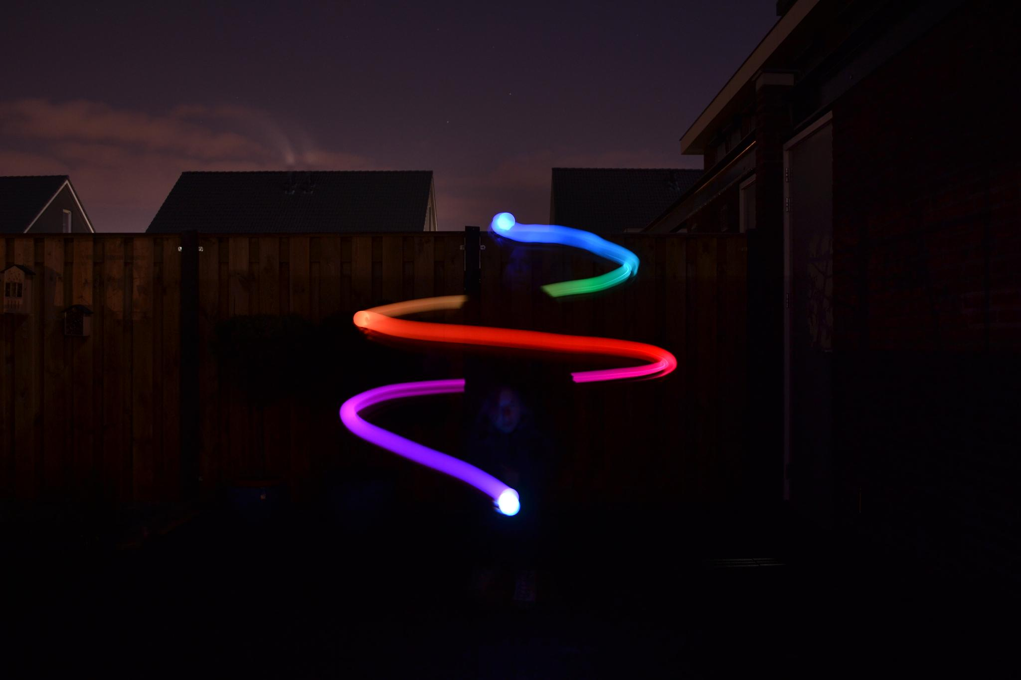 Fun with lights by ellenderks