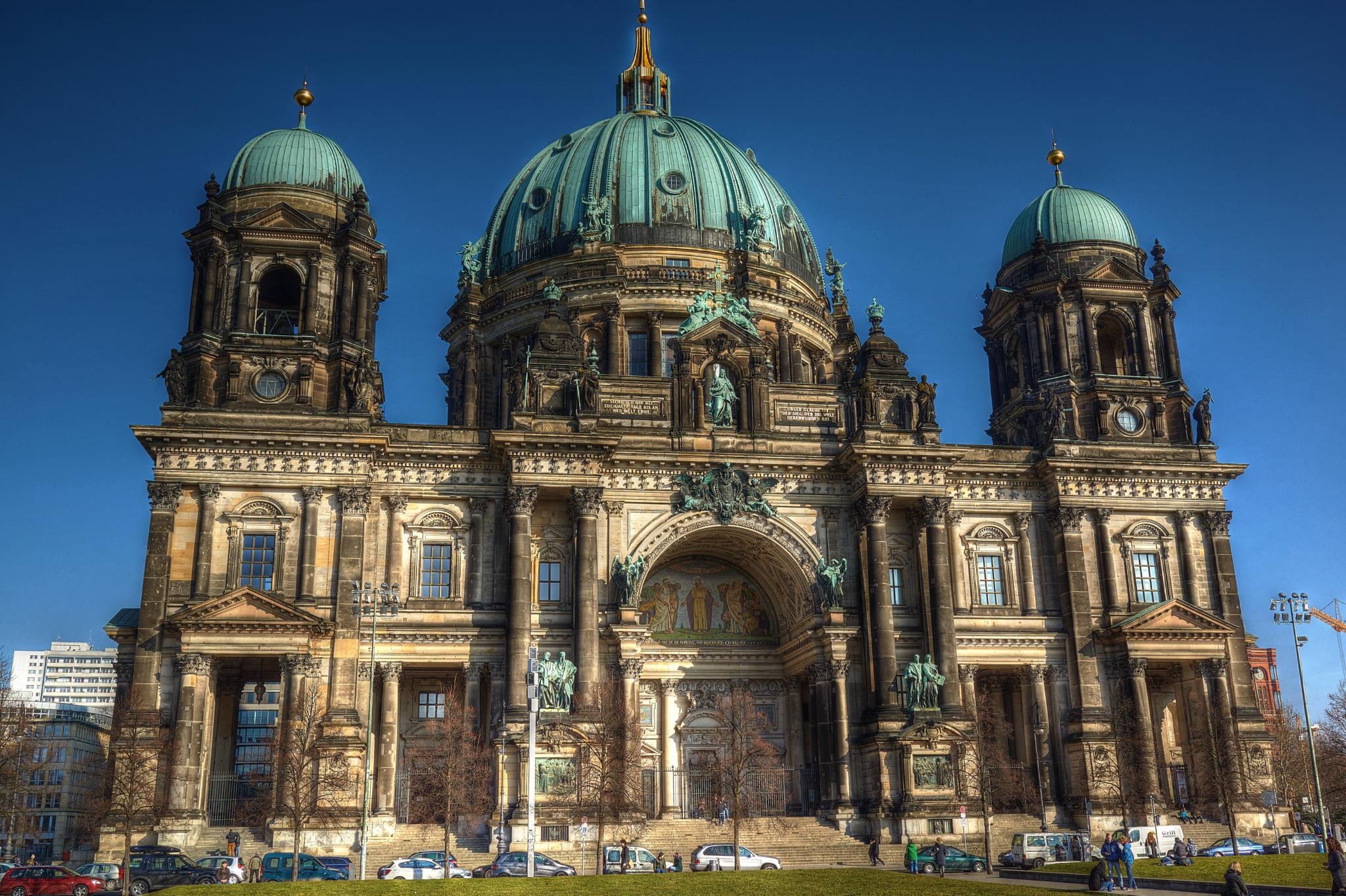 Berlin Cathedral Church by Johnny