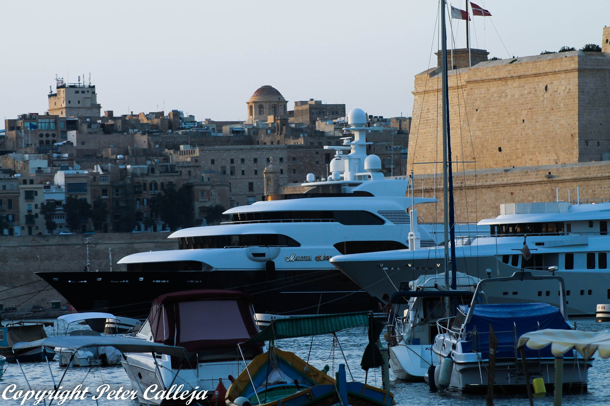 Super Yachts  by Peter Calleja