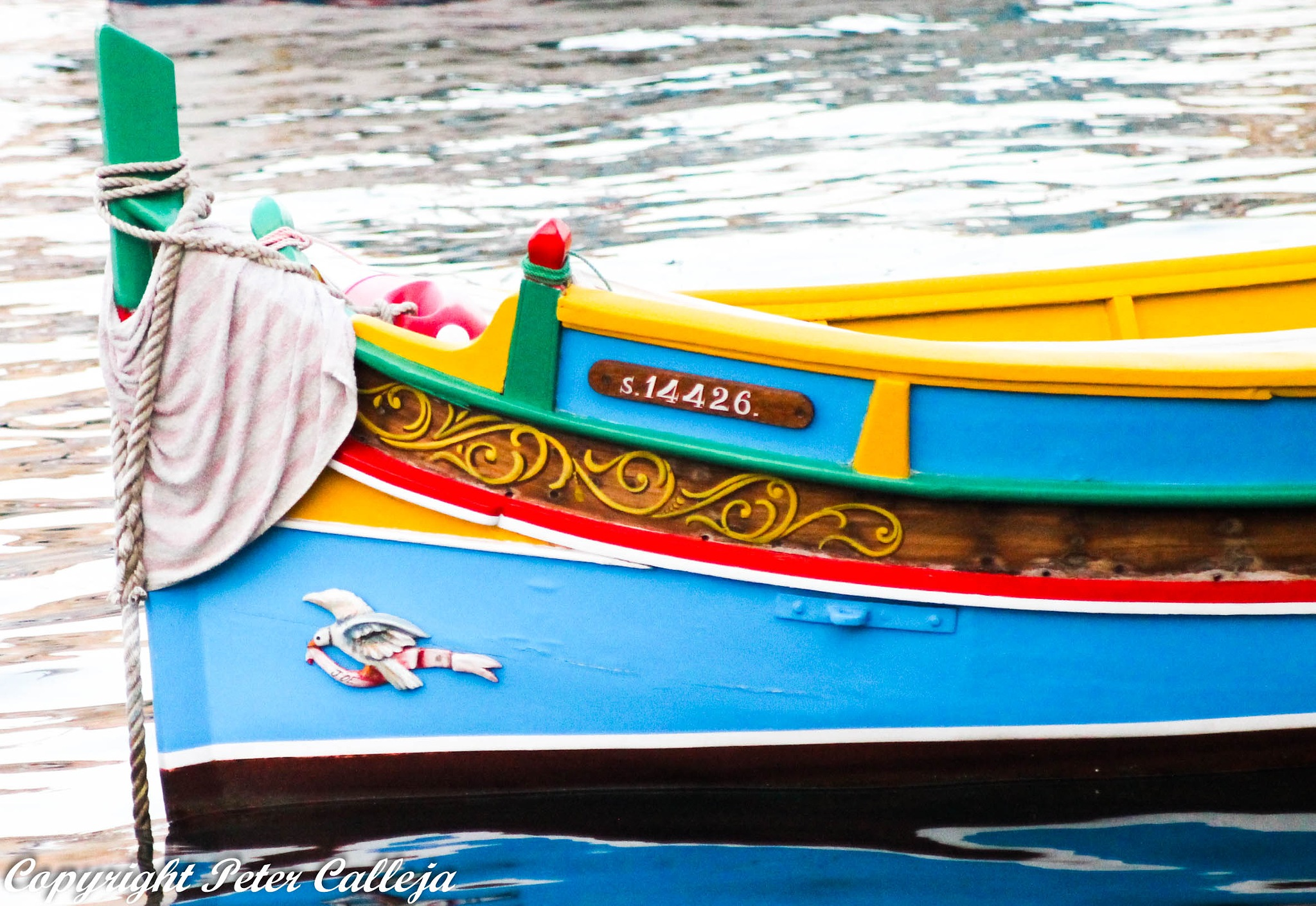 The Maltese Fishing Boat by Peter Calleja