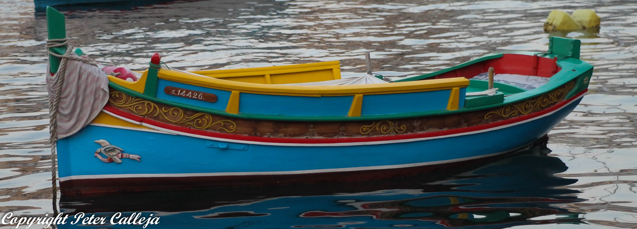 The Fishing Boat by Peter Calleja