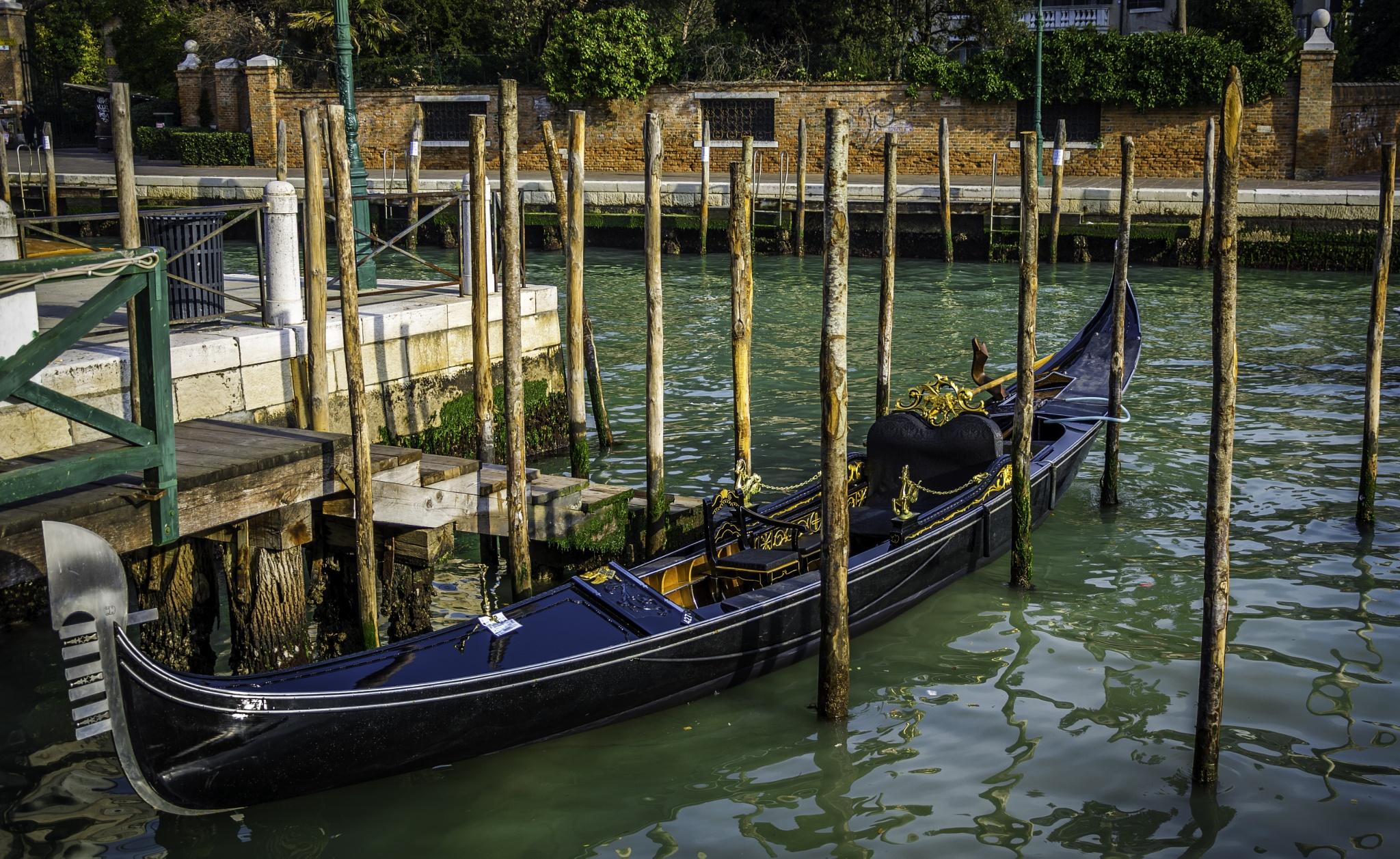 Gondola by D.W.Images