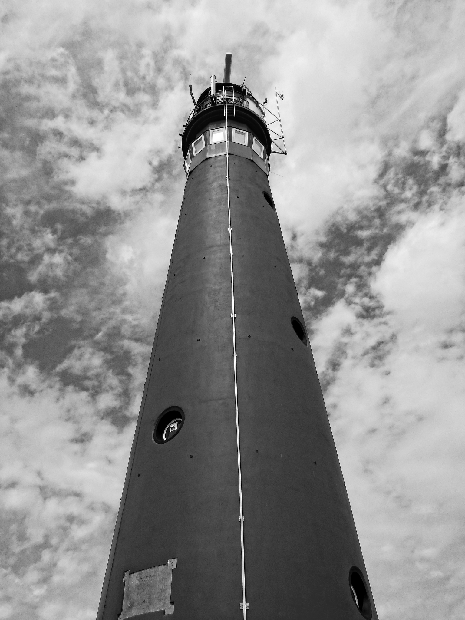 Lighthouse at Schiermonnikoog... by Robert