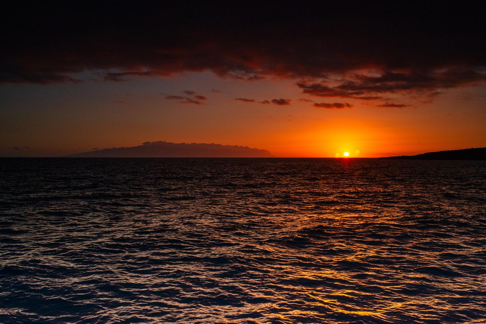 La Gomera Sun set by artur.tkaczyk