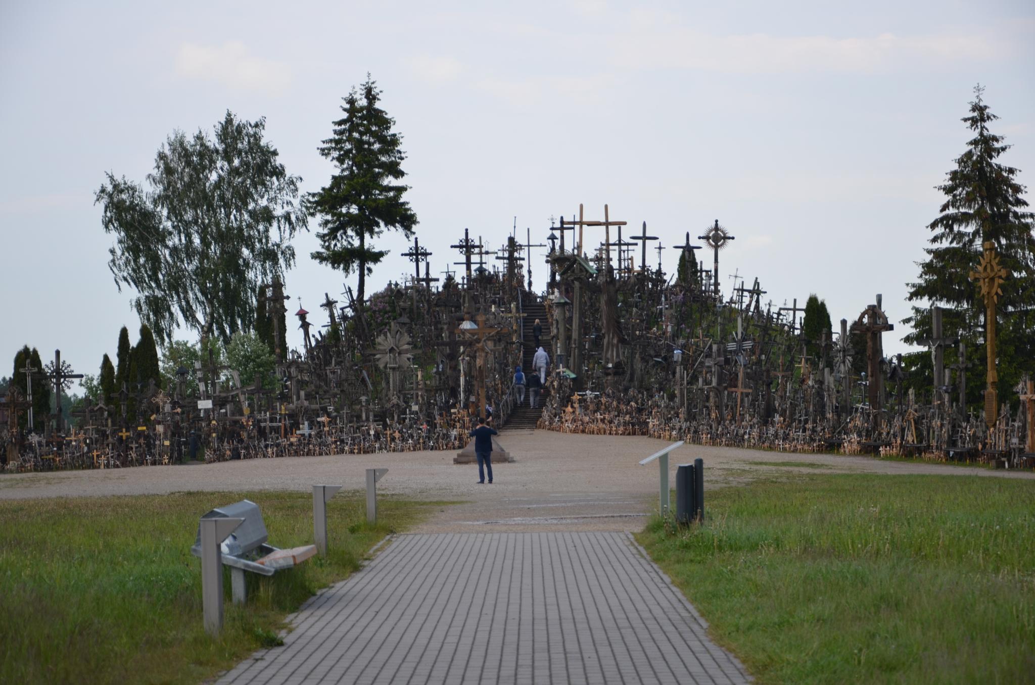 The Hill of Crosses in Lithuania. by natalja.rybakova