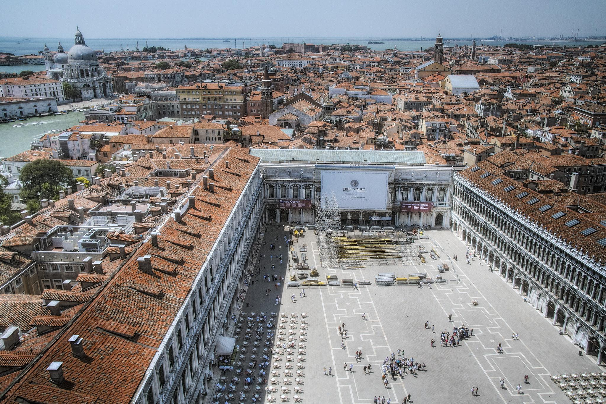 San Marco from above by harald.seiwert