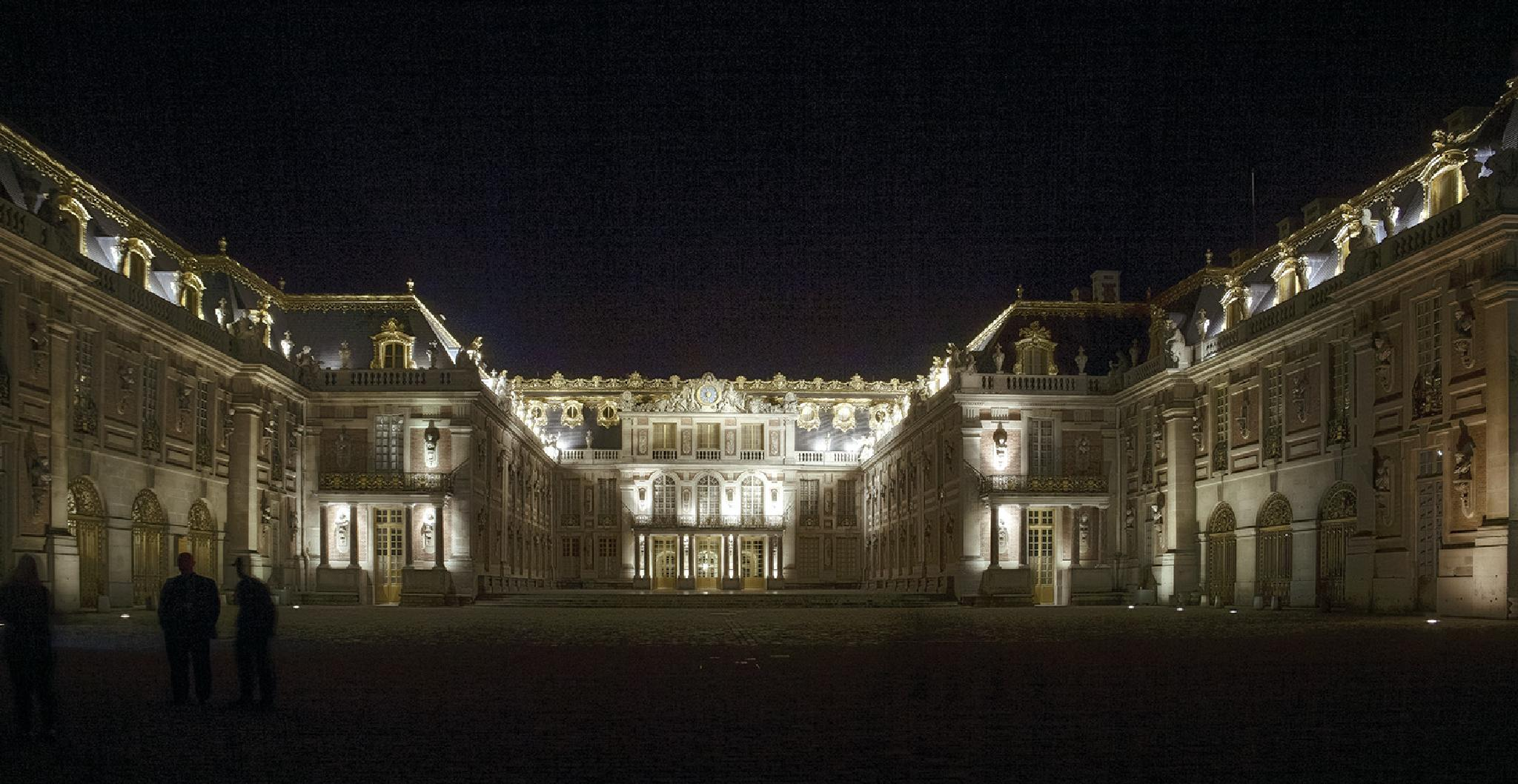 Versailles at Night by harald.seiwert