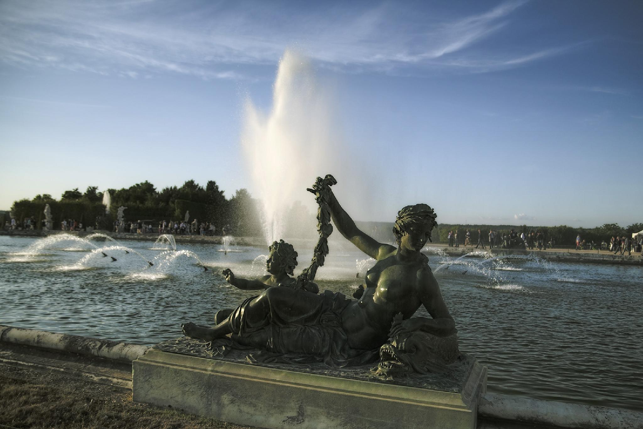 Versailles, Garden by harald.seiwert