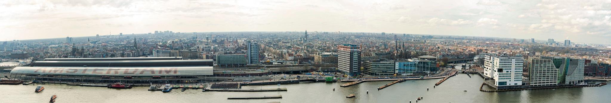 Amsterdam Panorama (2) by harald.seiwert
