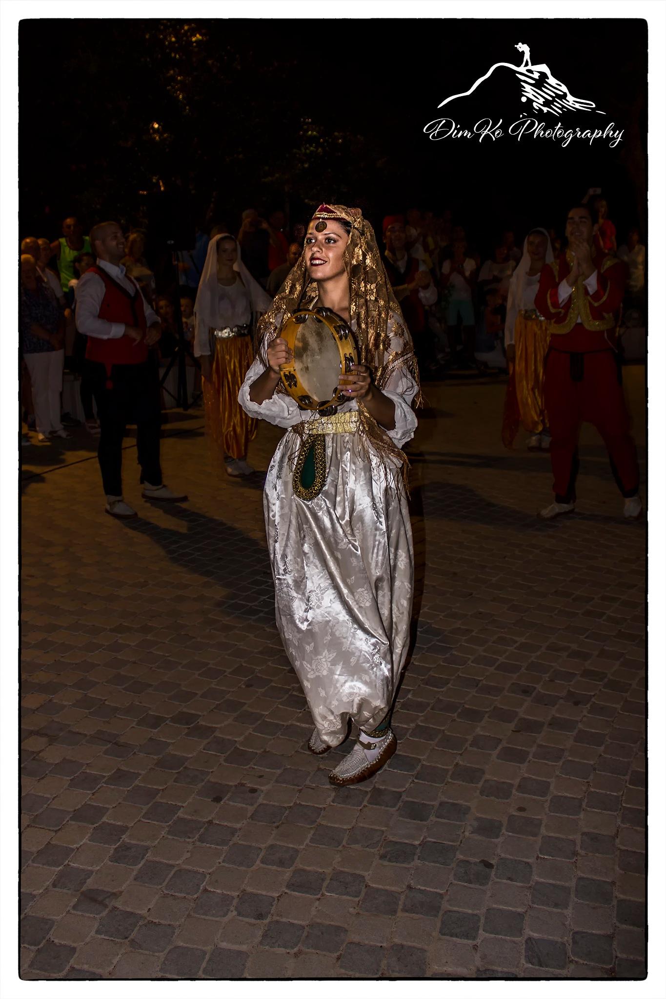 Folk dancer by dimce.korunoski