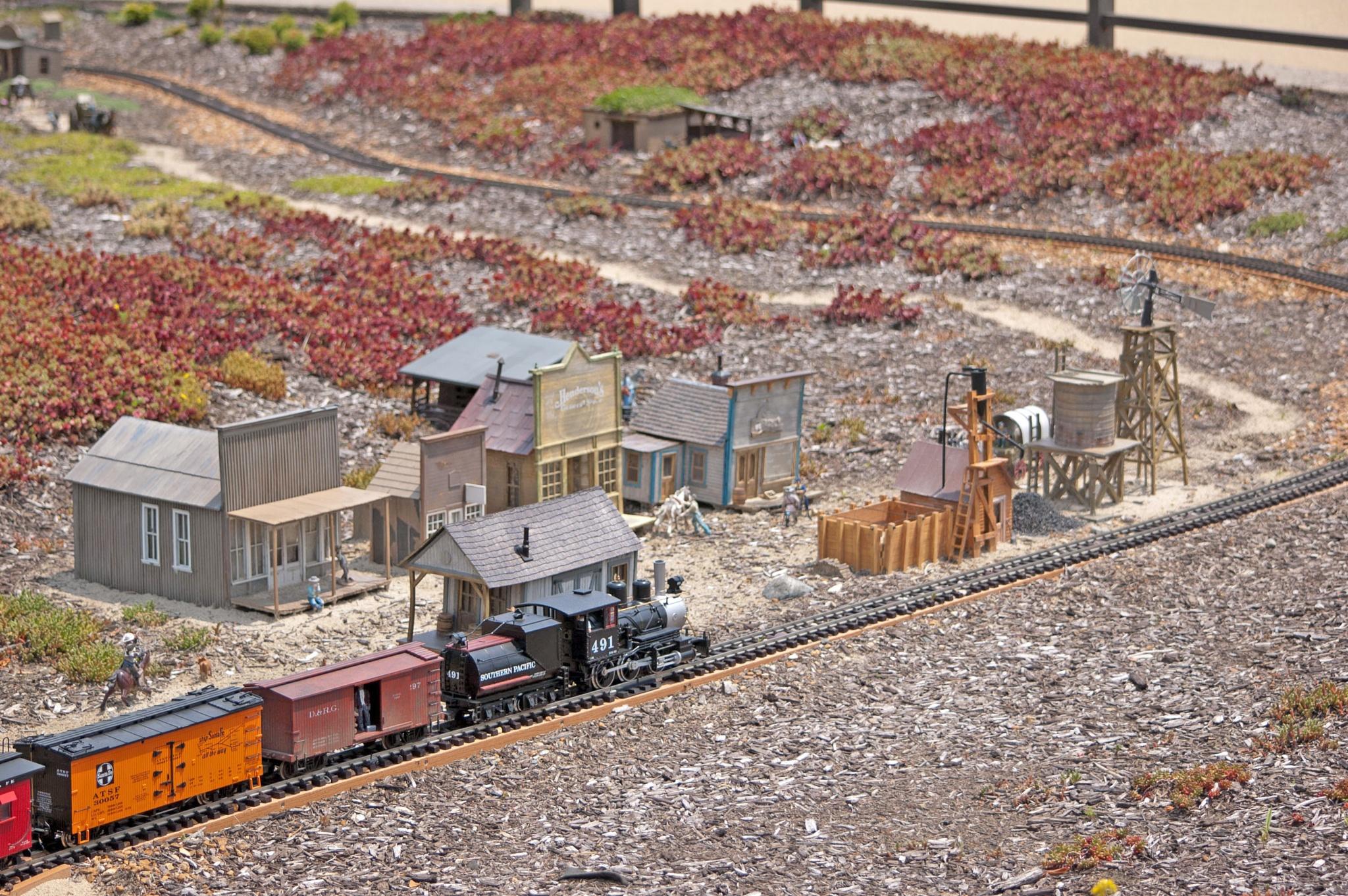 Train Set by Brady Williams