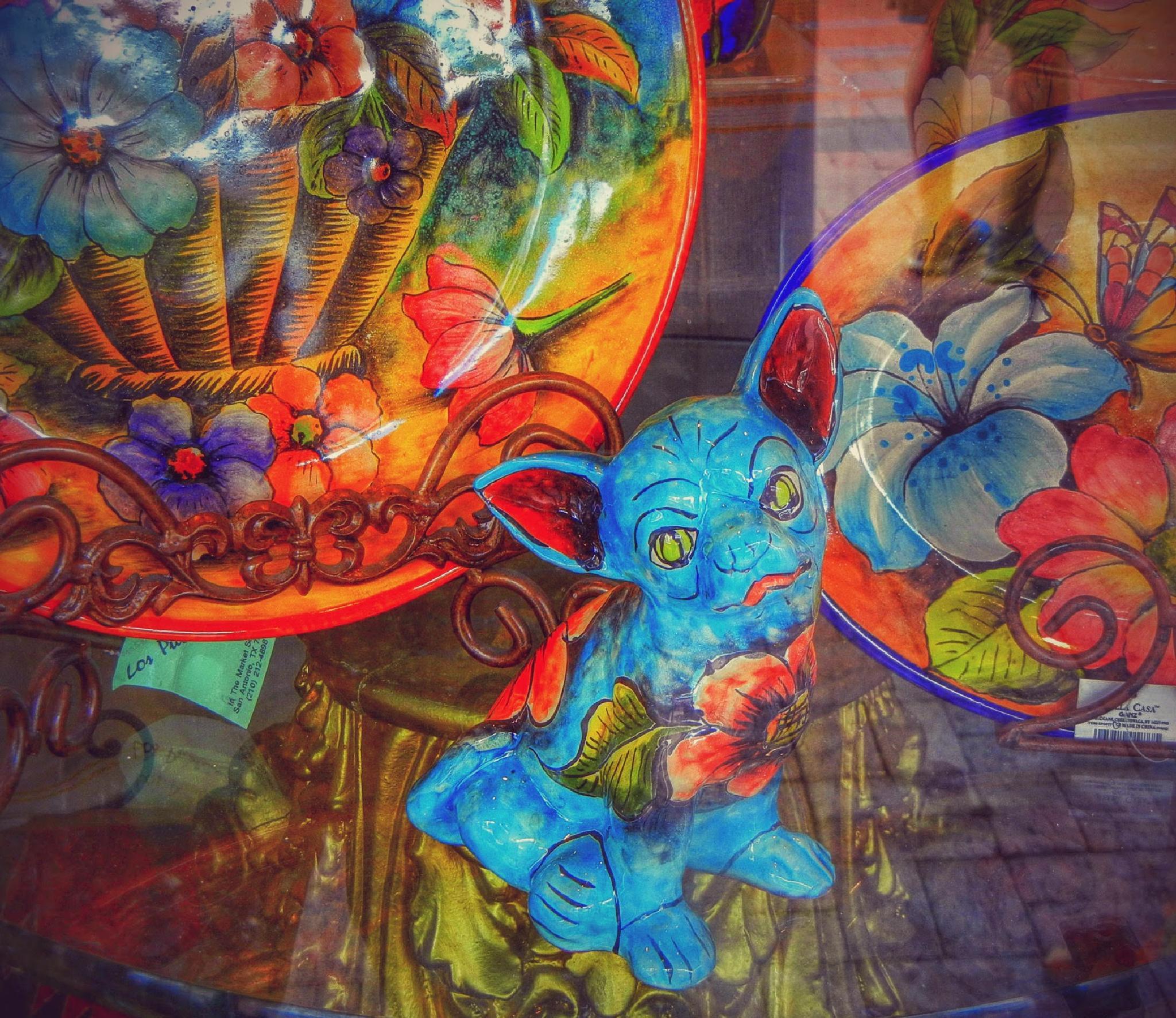 At El Mercado, San Antonio by 3dotstudio