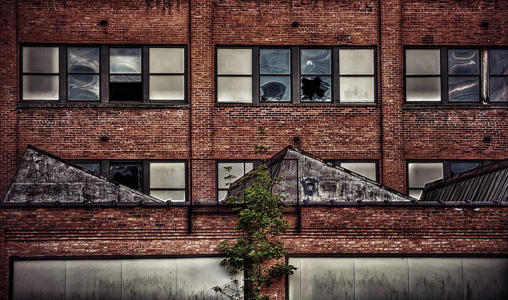 Abandoned Factory, Johnson City, NY by 3dotstudio