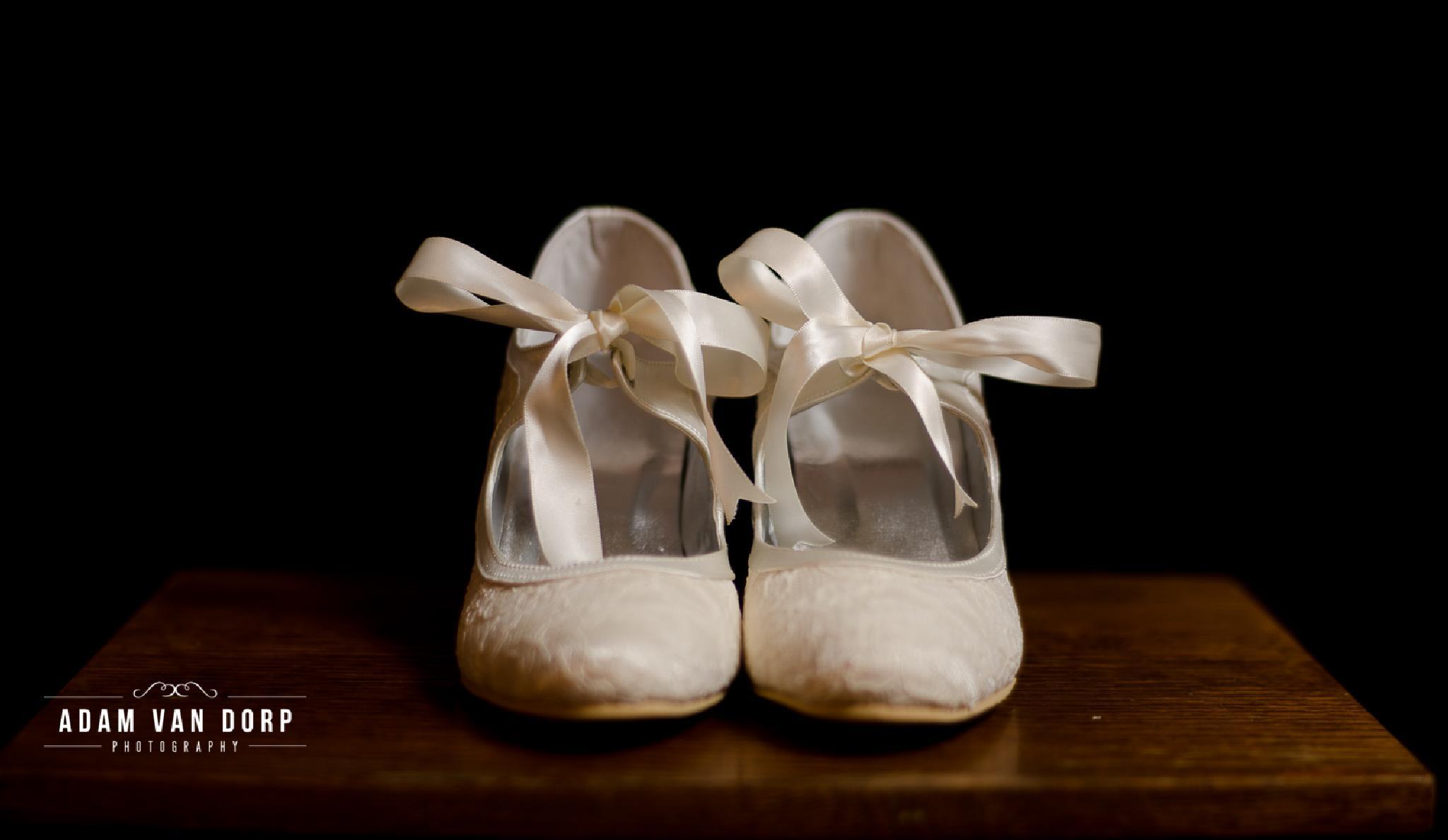 Wedding shoes by Adam van Dorp