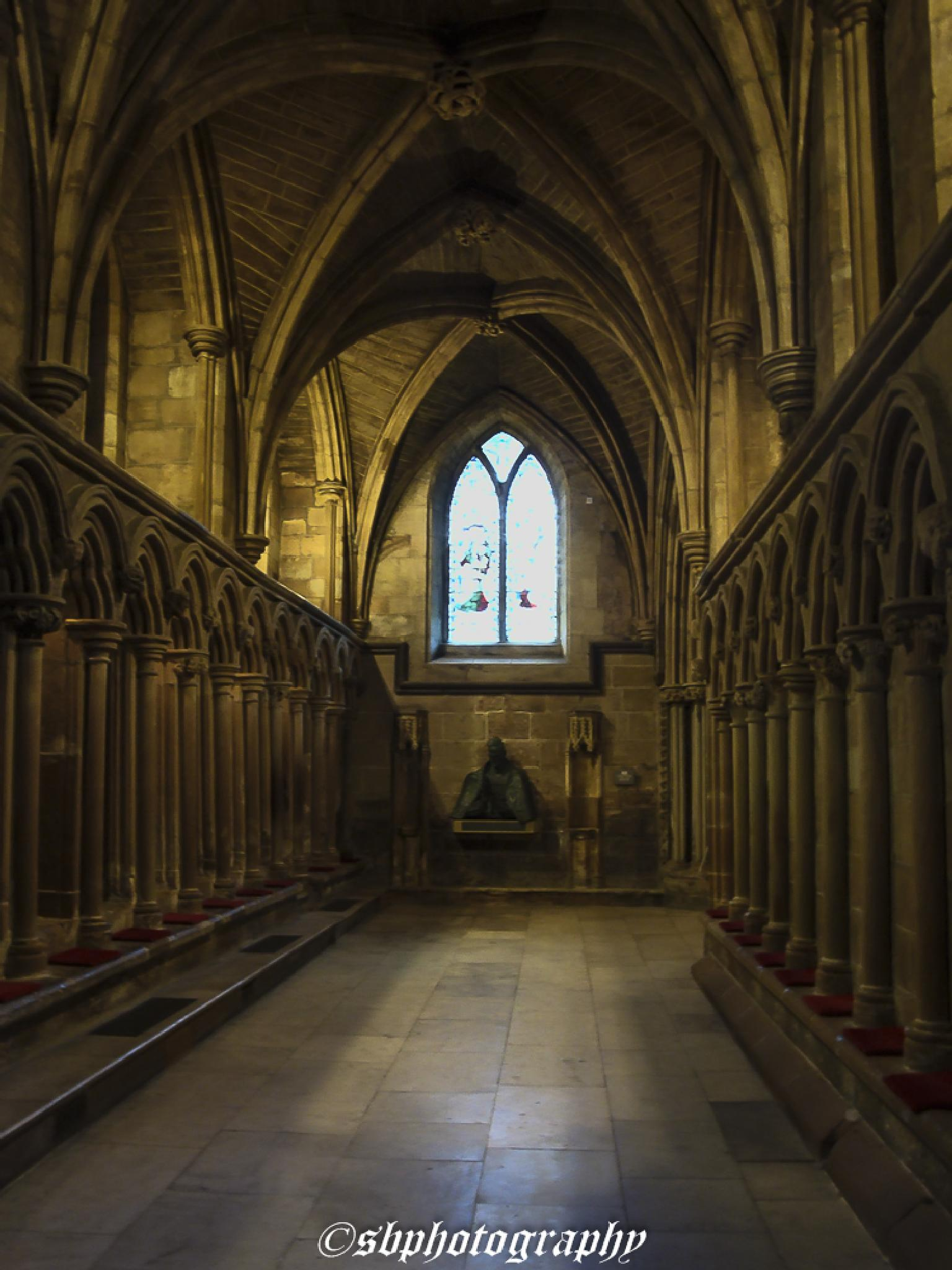 litchfield Cathedral by shaun