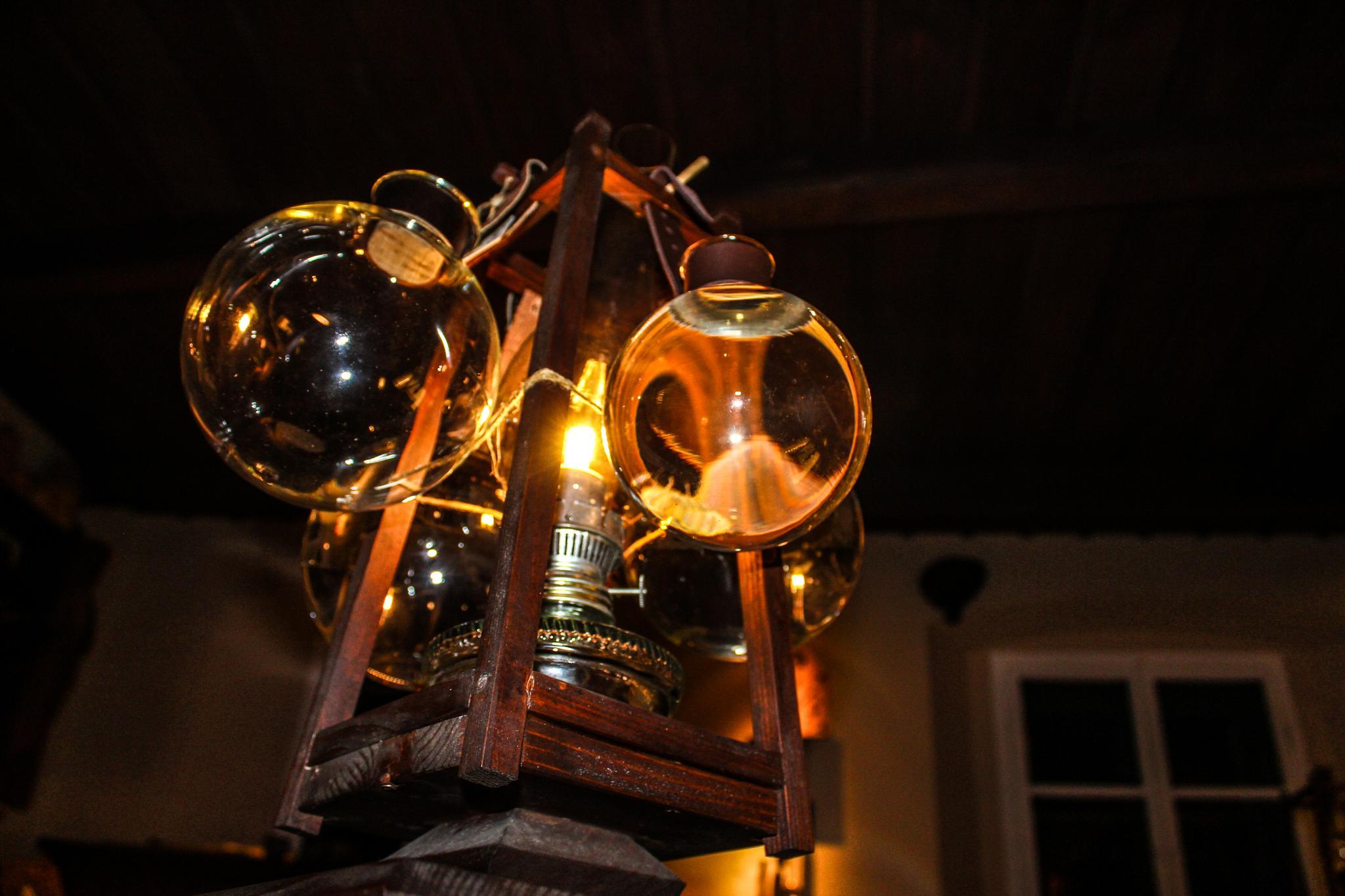 Ancient focused light by Andraž Sodja
