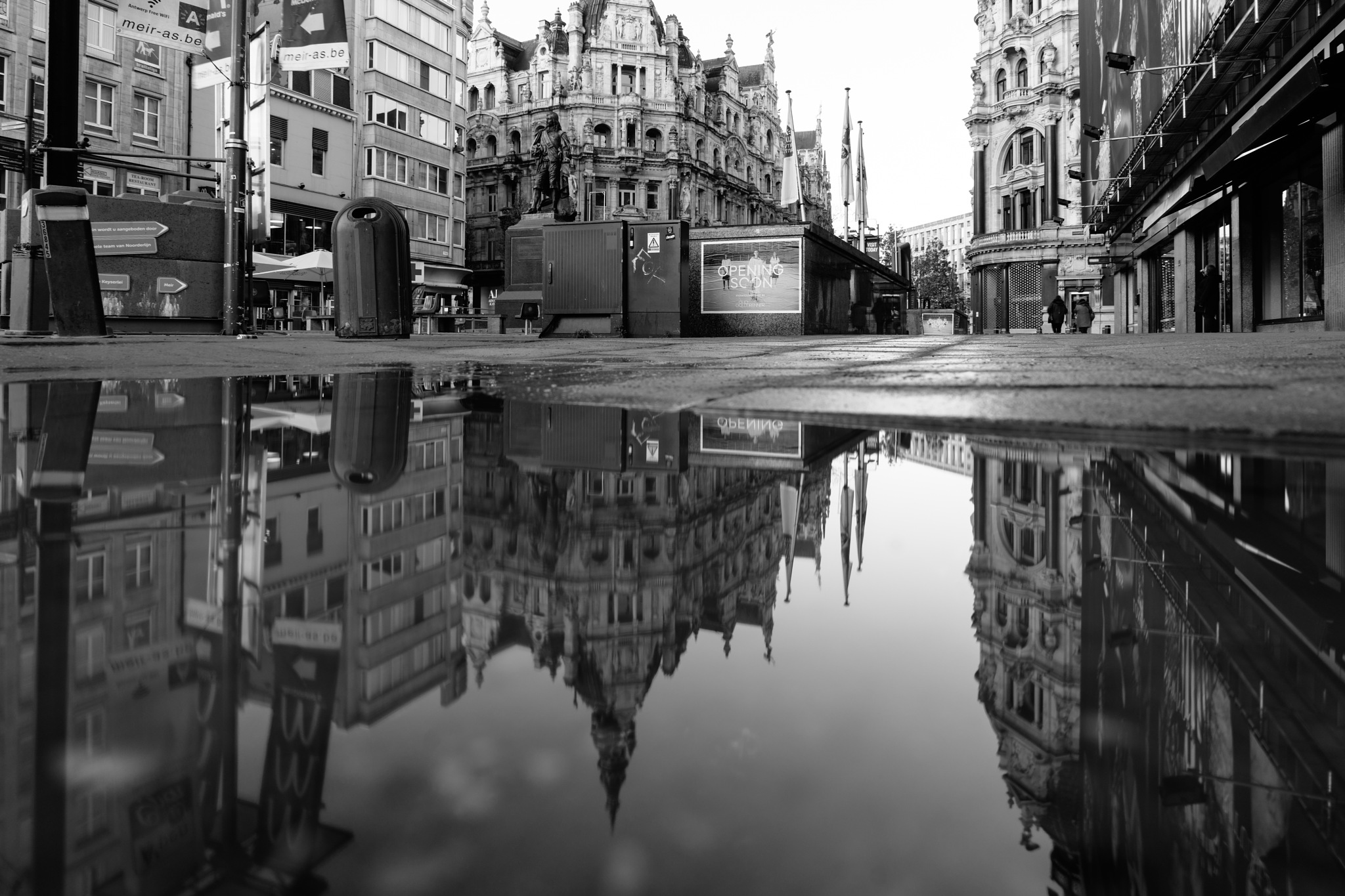 Antwerp puddle by janpw