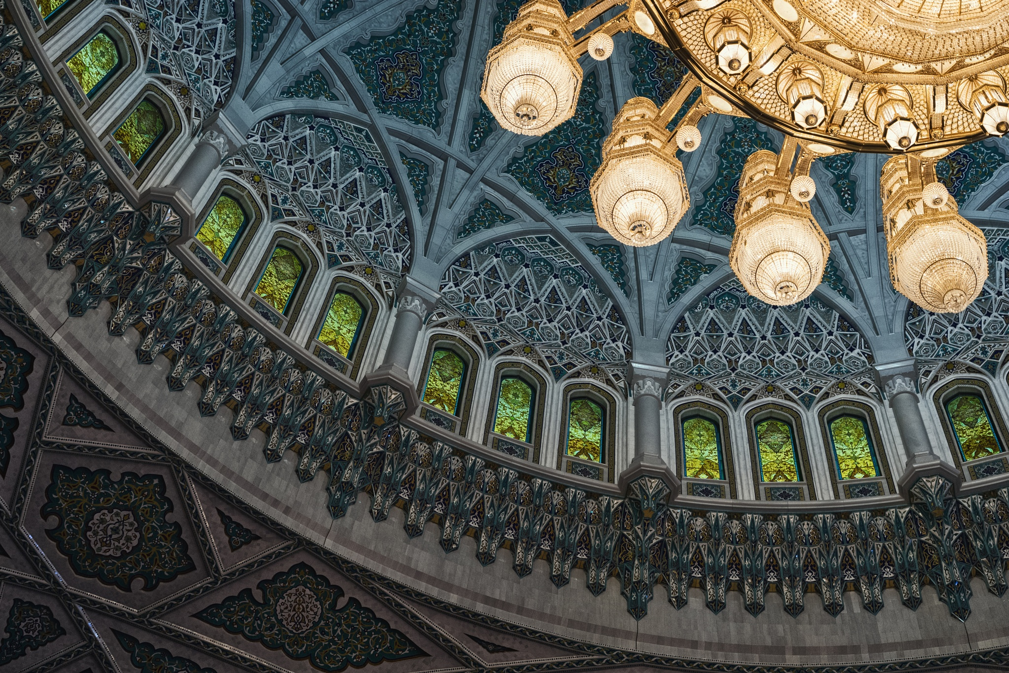 Oh, what a ceiling by janpw