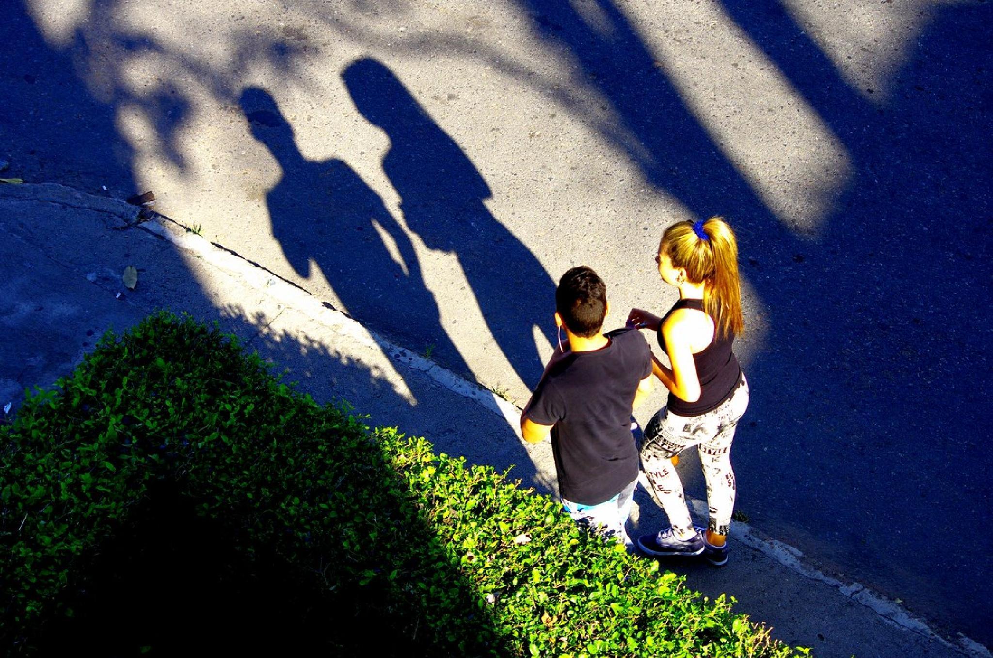 Morning shadows by Dan Steeves
