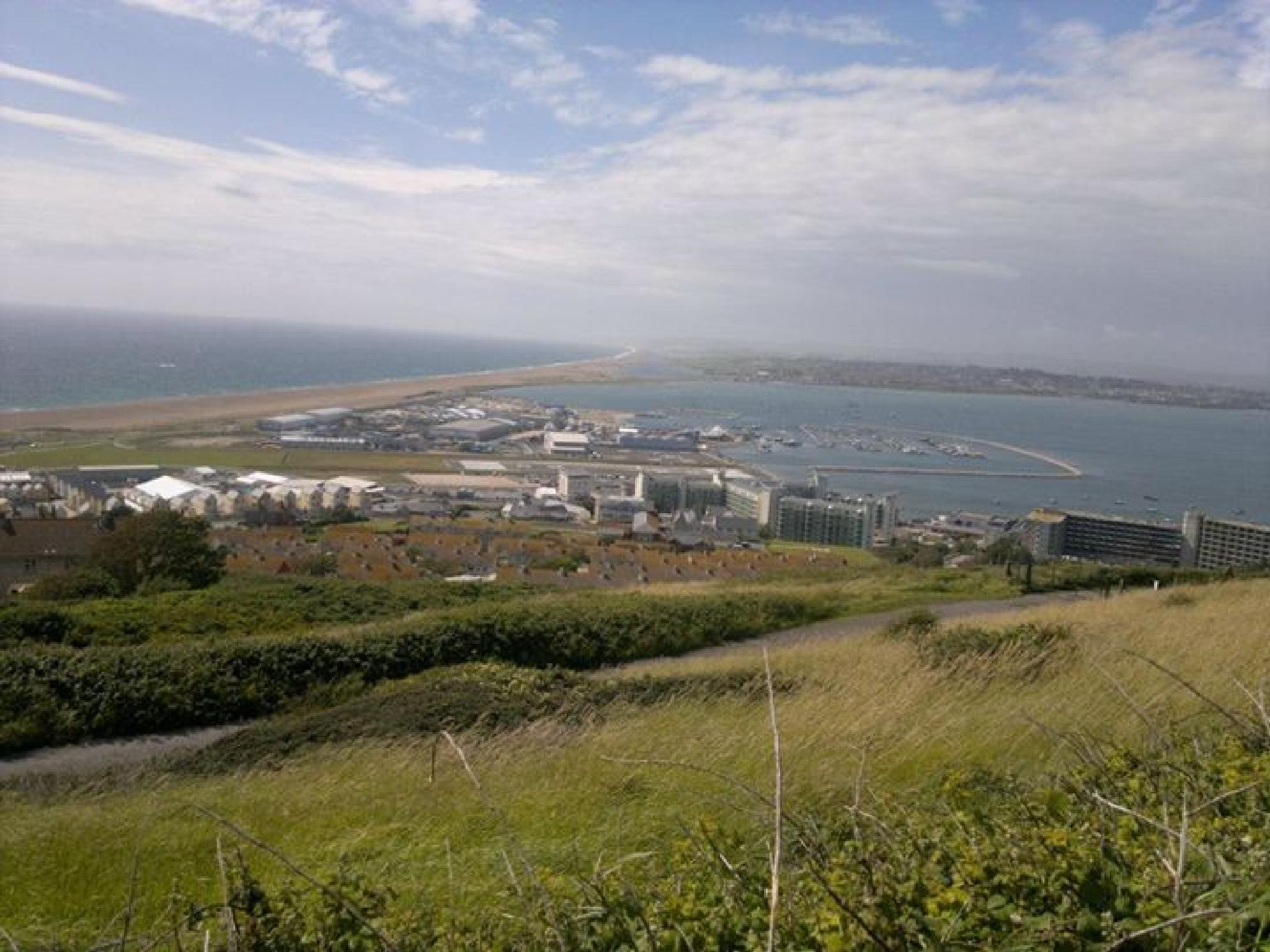View across from Portland Bill by Naomi D Tillotson-Keating