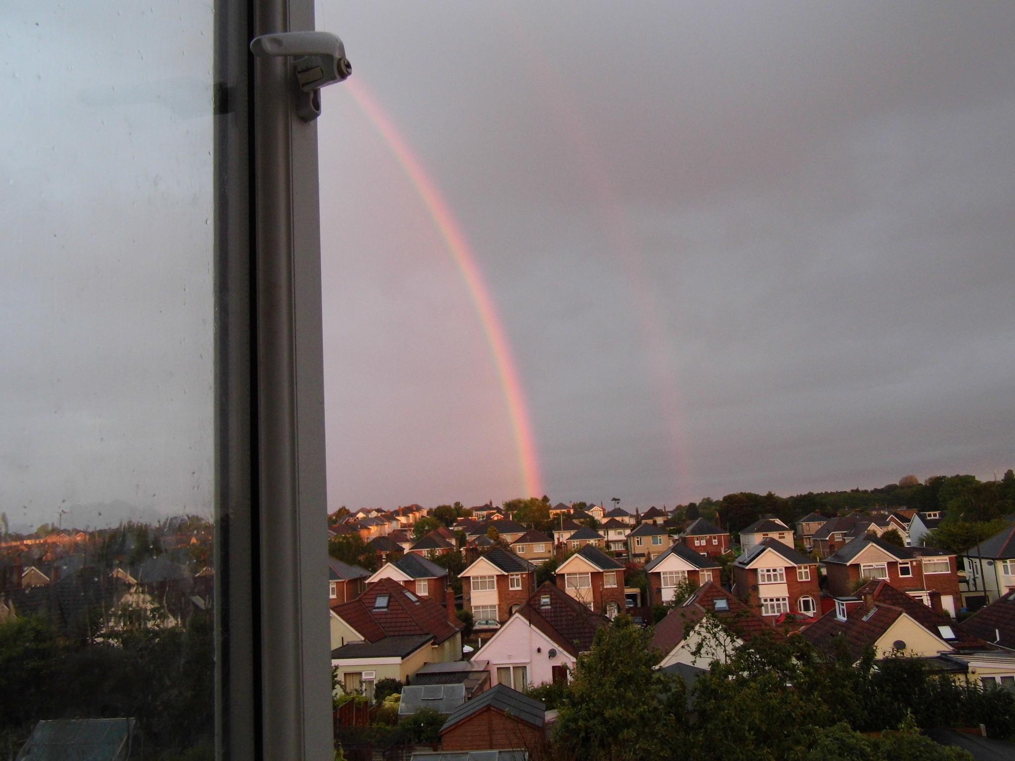 feint double rainbow by Naomi D Tillotson-Keating