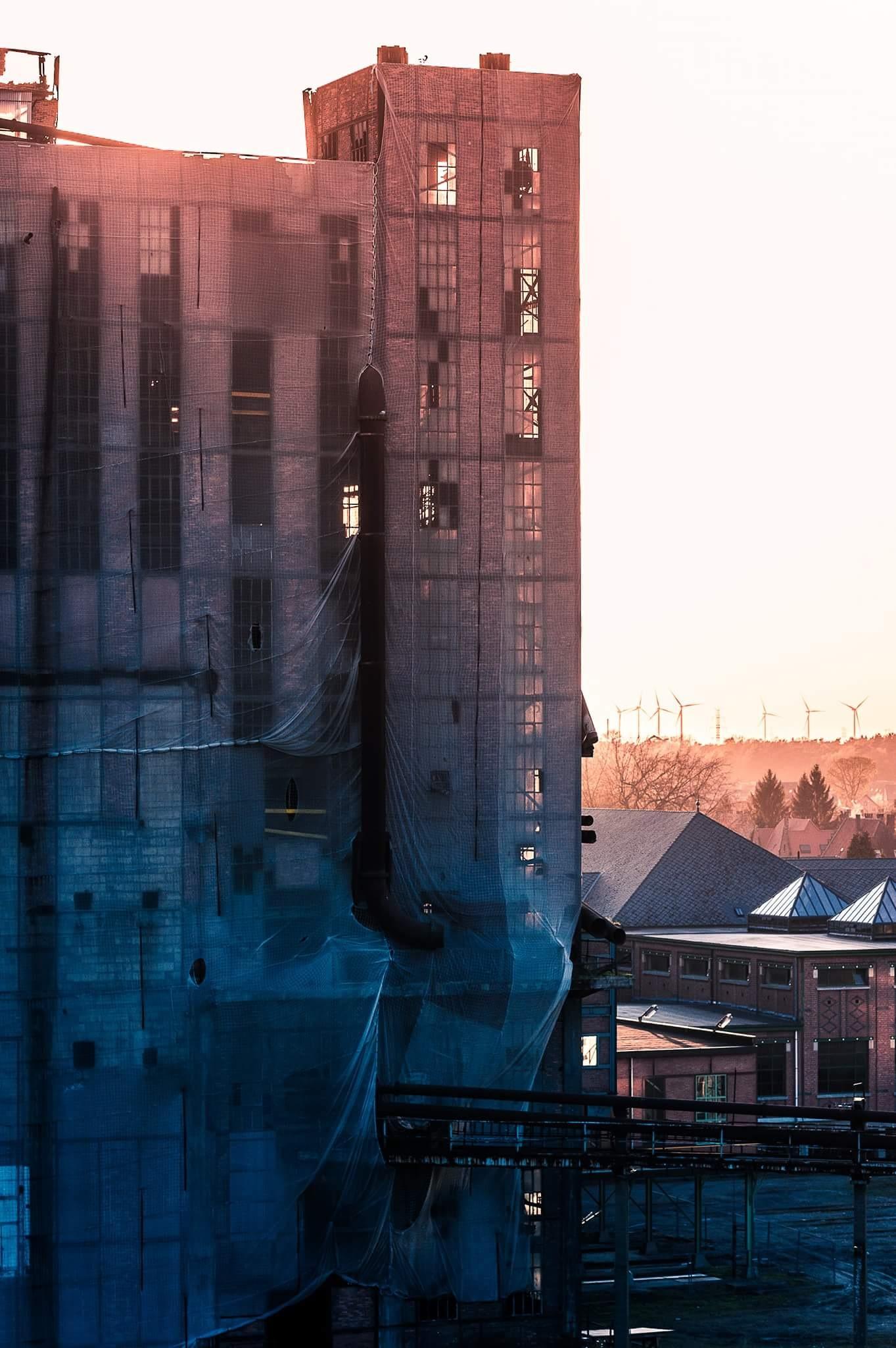 Beringen coal mine series  by Steve Guessoum